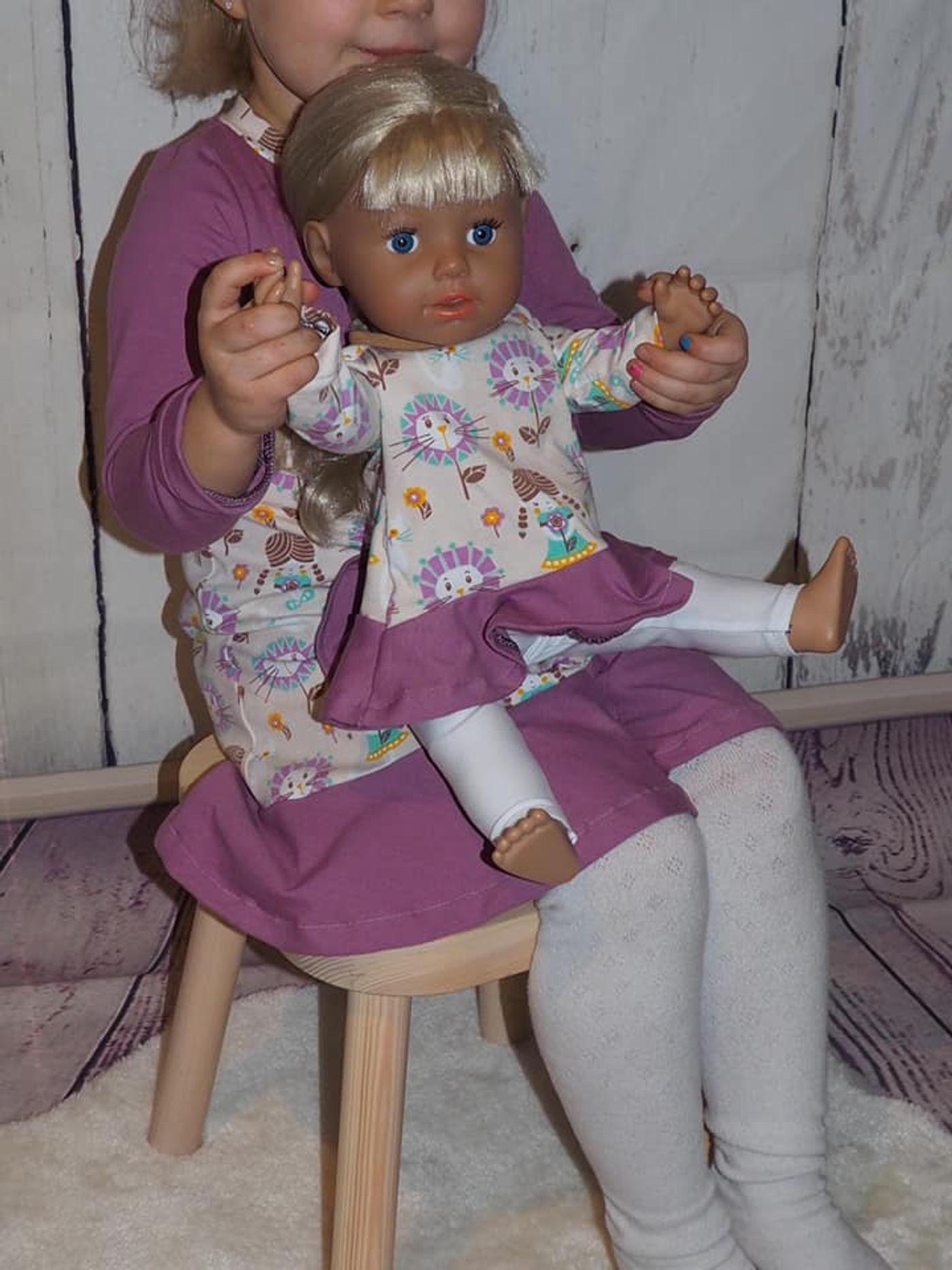 Produktfoto 4 von Happy Pearl für Schnittmuster Little SUNdrina + Happy SUNdrina Tunika/Kleid und 43cm Puppenschnitt