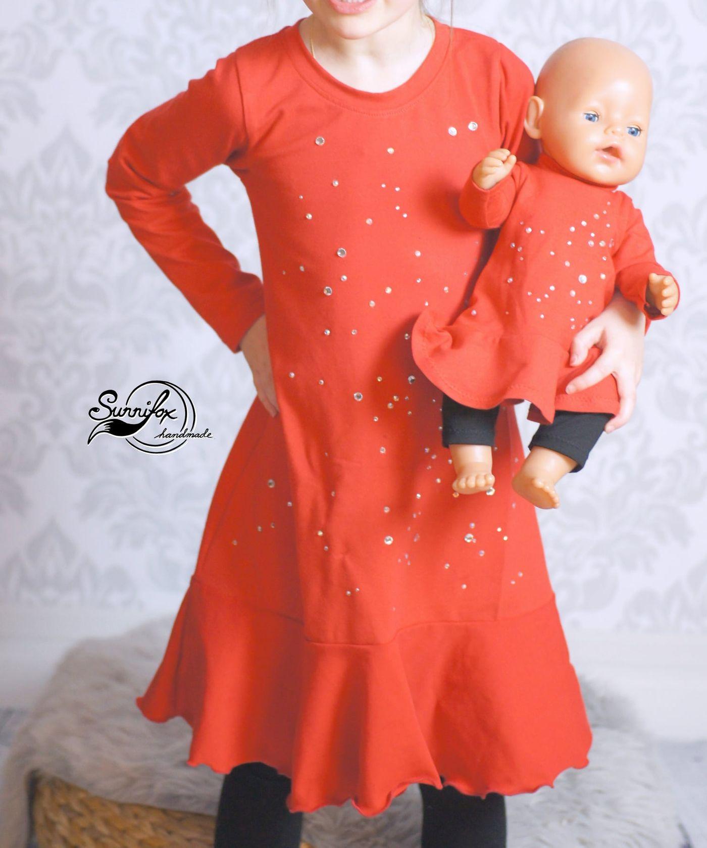 Produktfoto 5 von Happy Pearl für Schnittmuster Little SUNdrina + Happy SUNdrina Tunika/Kleid und 43cm Puppenschnitt