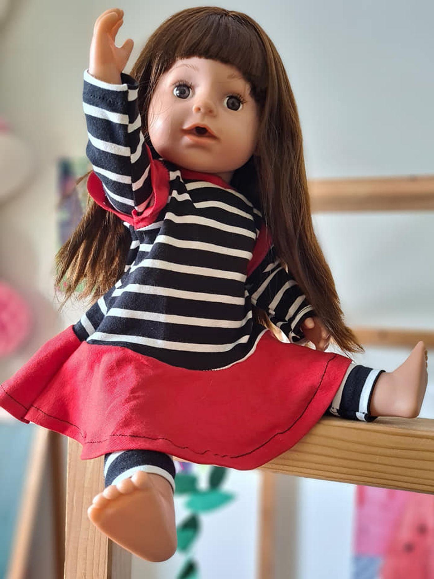 Produktfoto 6 von Happy Pearl für Schnittmuster Little SUNdrina + Happy SUNdrina Tunika/Kleid und 43cm Puppenschnitt