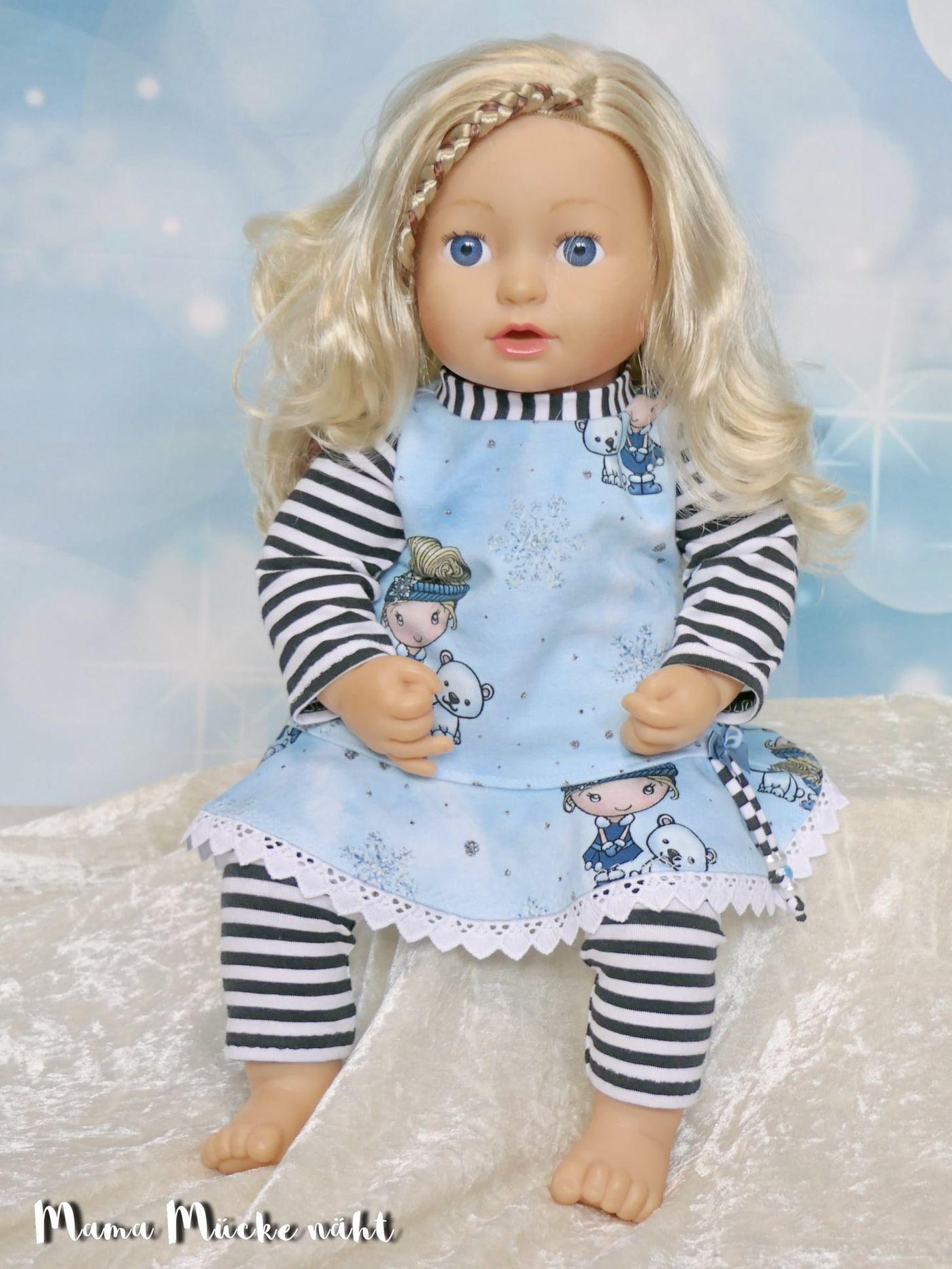 Produktfoto 8 von Happy Pearl für Schnittmuster Little SUNdrina + Happy SUNdrina Tunika/Kleid und 43cm Puppenschnitt