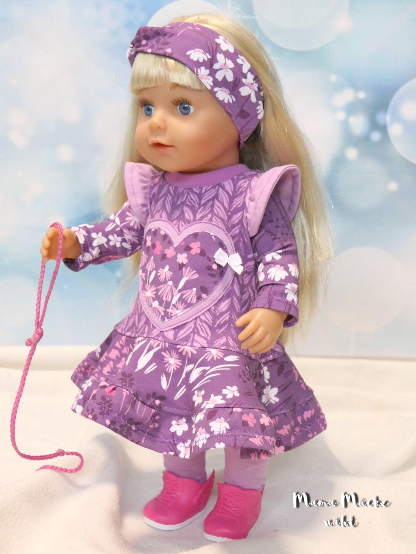 Produktfoto 9 von Happy Pearl für Schnittmuster Little SUNdrina + Happy SUNdrina Tunika/Kleid und 43cm Puppenschnitt