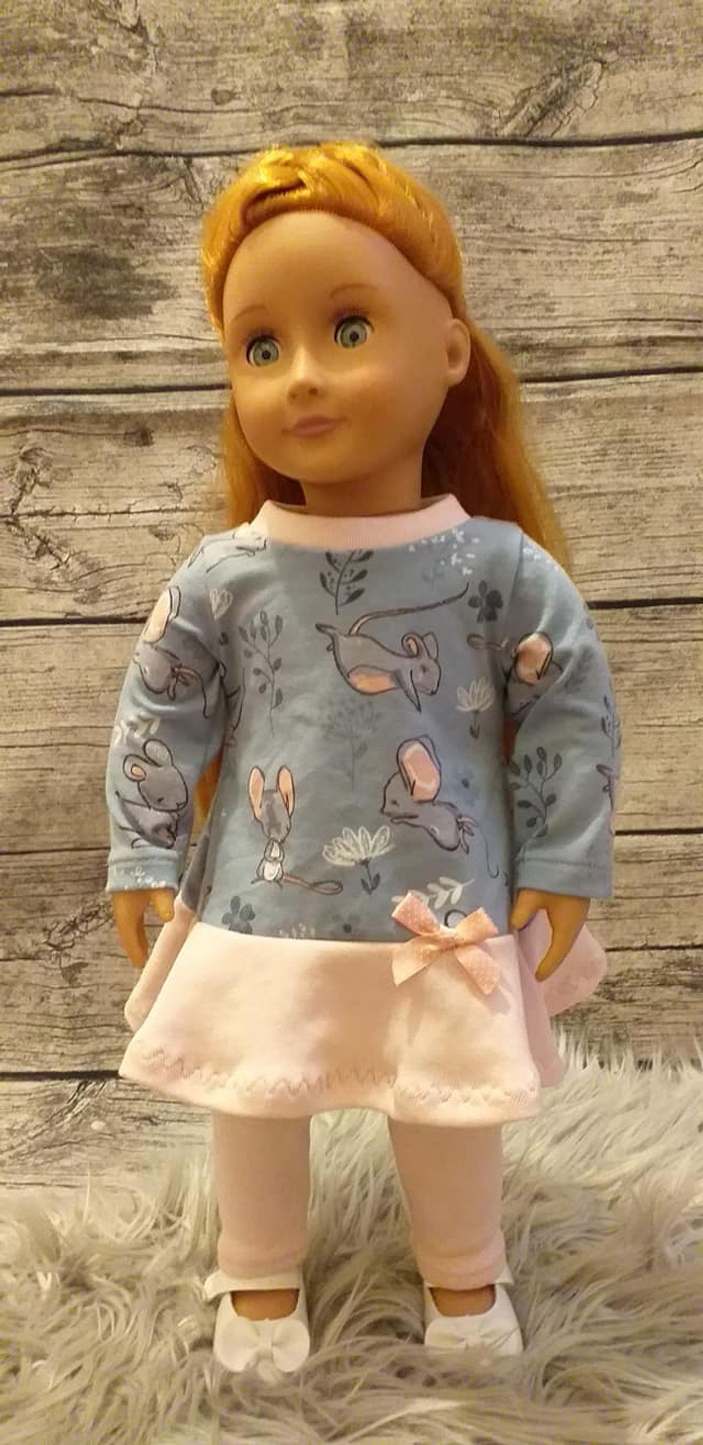 Produktfoto 12 von Happy Pearl für Schnittmuster Little SUNdrina + Happy SUNdrina Tunika/Kleid und 43cm Puppenschnitt