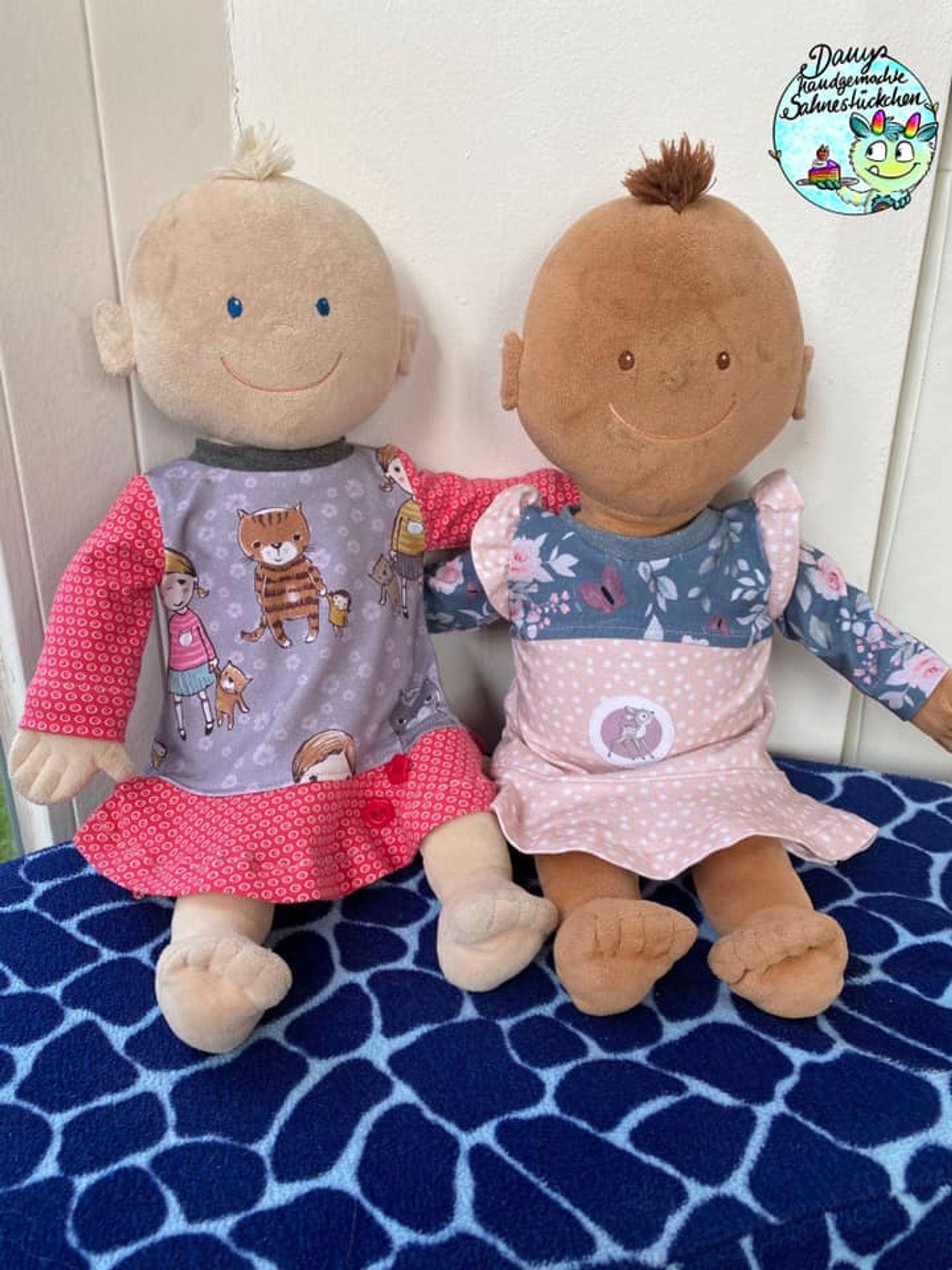 Produktfoto 13 von Happy Pearl für Schnittmuster Little SUNdrina + Happy SUNdrina Tunika/Kleid und 43cm Puppenschnitt