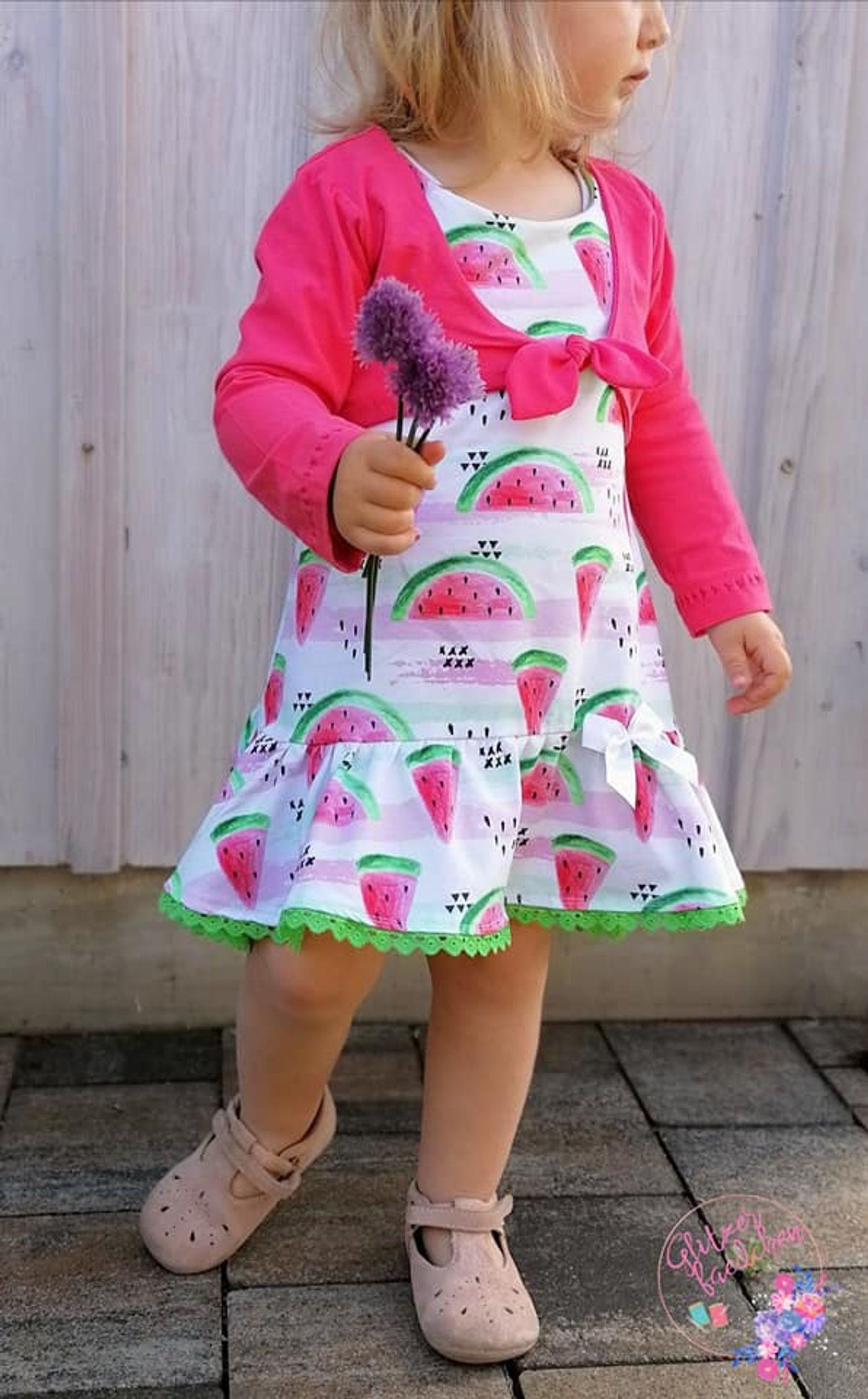 Produktfoto 14 von Happy Pearl für Schnittmuster Little SUNdrina + Happy SUNdrina Tunika/Kleid und 43cm Puppenschnitt