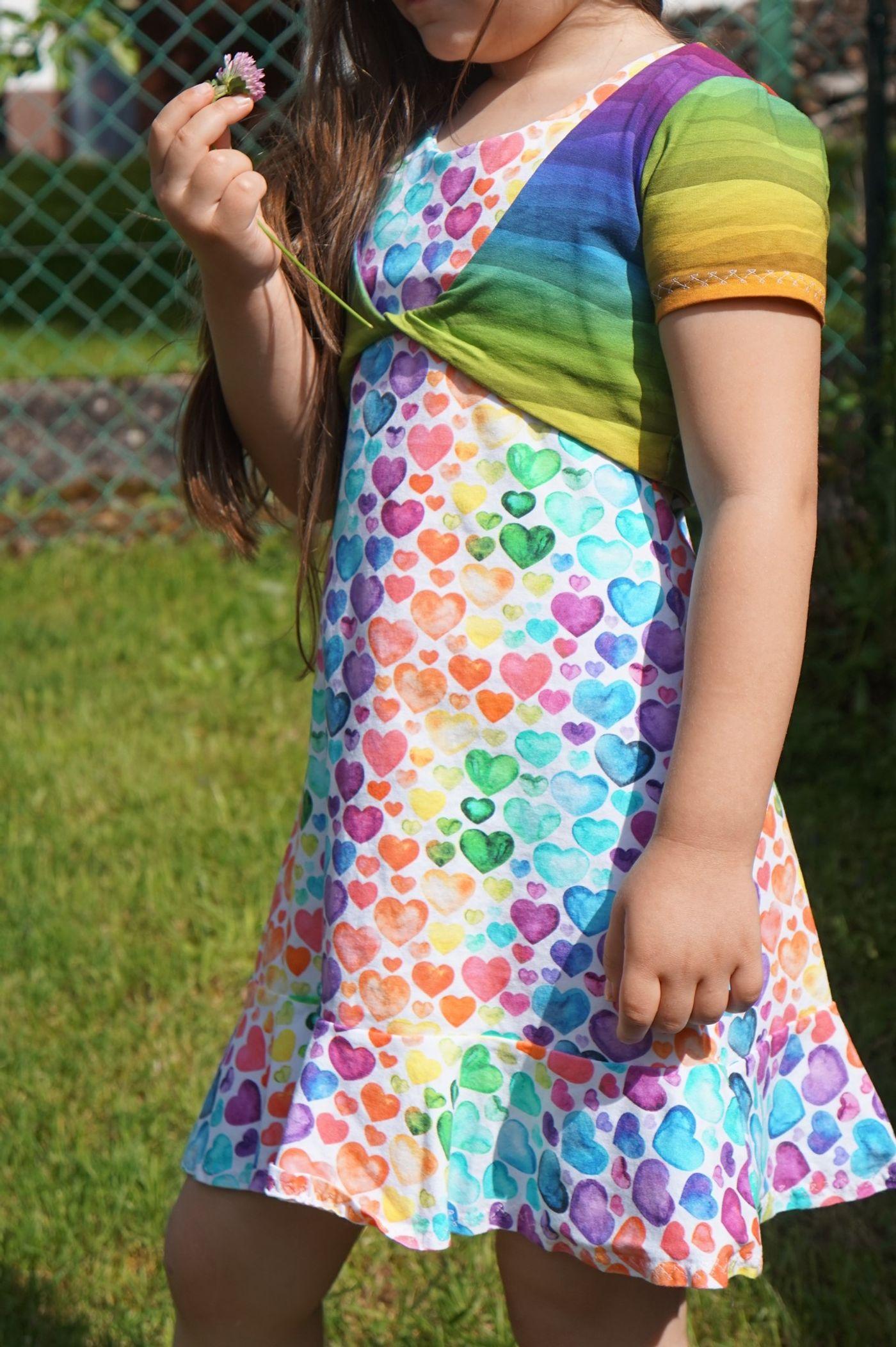 Produktfoto 15 von Happy Pearl für Schnittmuster Little SUNdrina + Happy SUNdrina Tunika/Kleid und 43cm Puppenschnitt