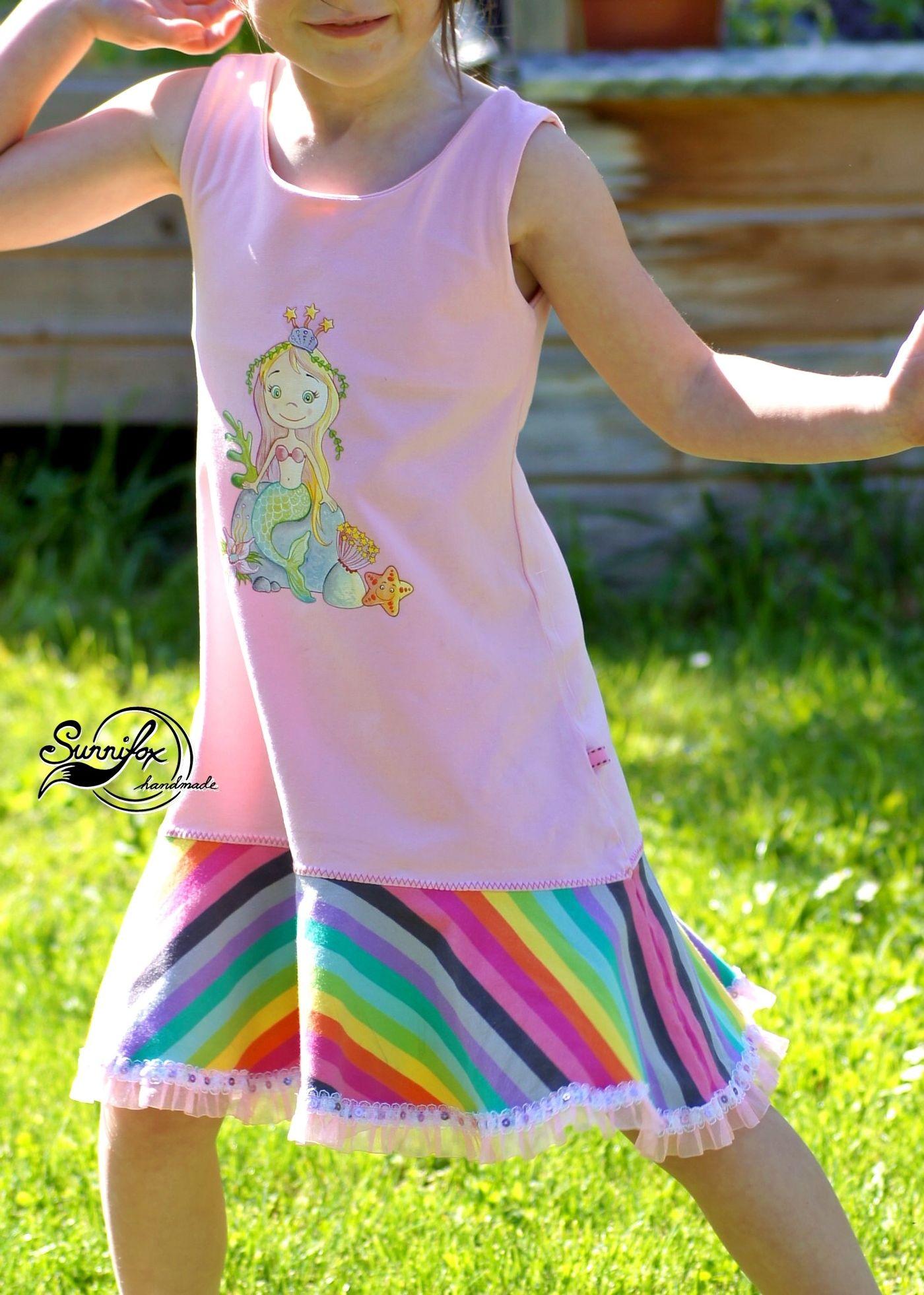 Produktfoto 17 von Happy Pearl für Schnittmuster Little SUNdrina + Happy SUNdrina Tunika/Kleid und 43cm Puppenschnitt
