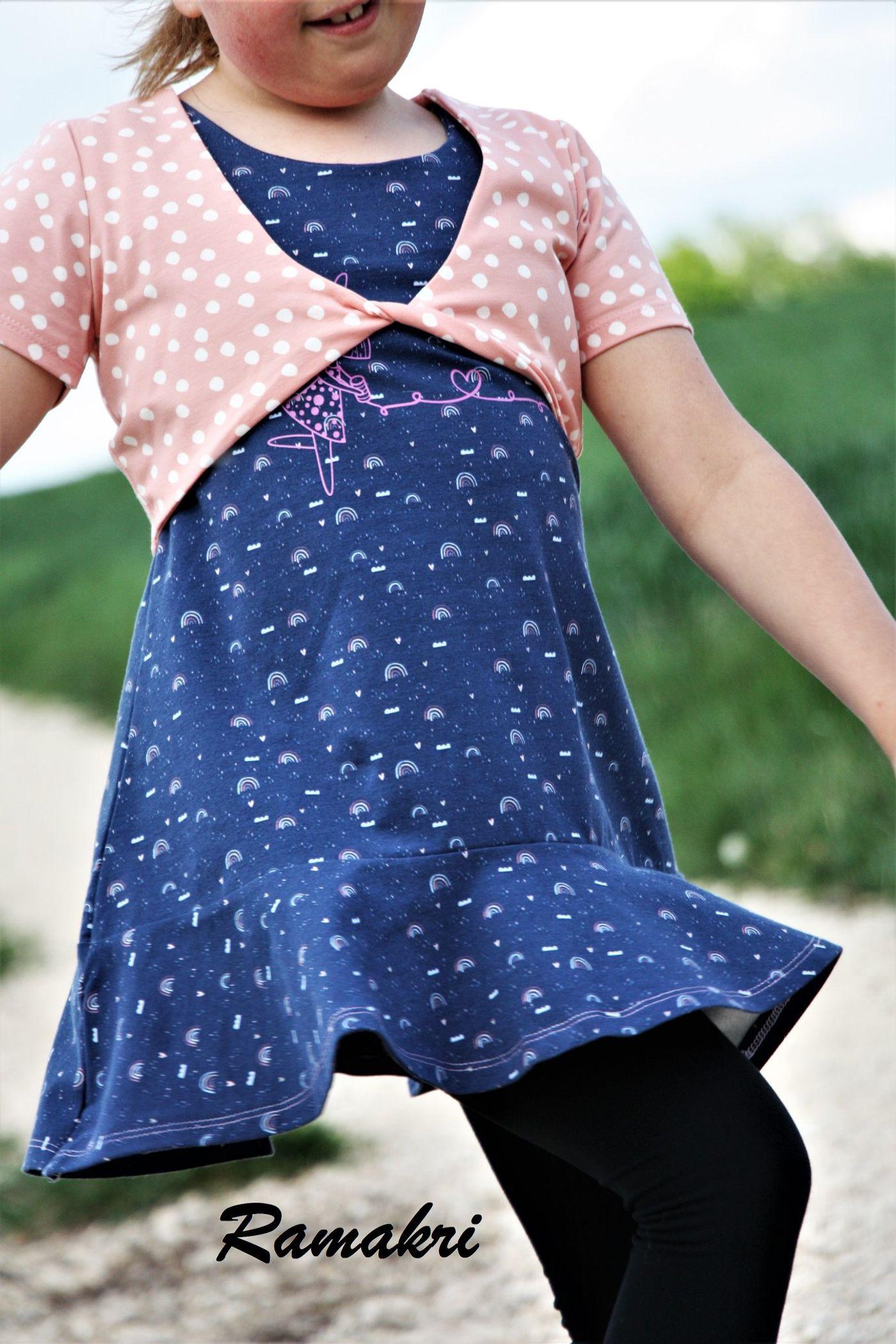 Produktfoto 19 von Happy Pearl für Schnittmuster Little SUNdrina + Happy SUNdrina Tunika/Kleid und 43cm Puppenschnitt