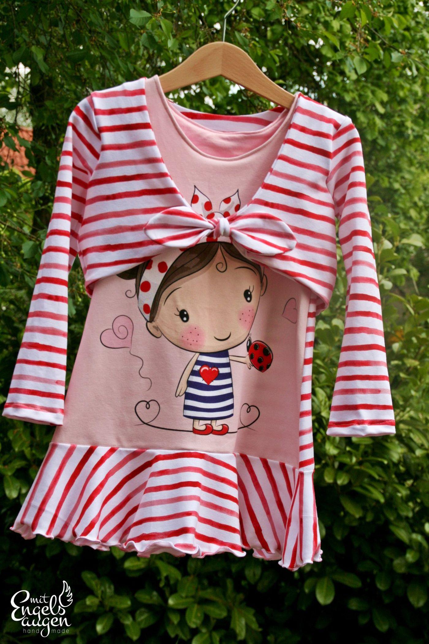 Produktfoto 20 von Happy Pearl für Schnittmuster Little SUNdrina + Happy SUNdrina Tunika/Kleid und 43cm Puppenschnitt