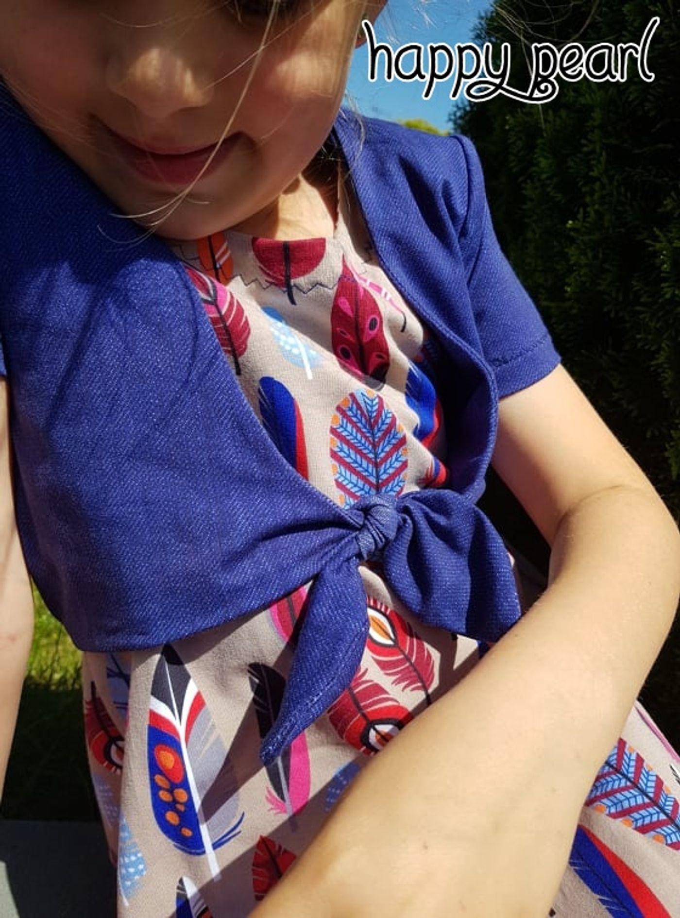 Produktfoto 21 von Happy Pearl für Schnittmuster Little SUNdrina + Happy SUNdrina Tunika/Kleid und 43cm Puppenschnitt