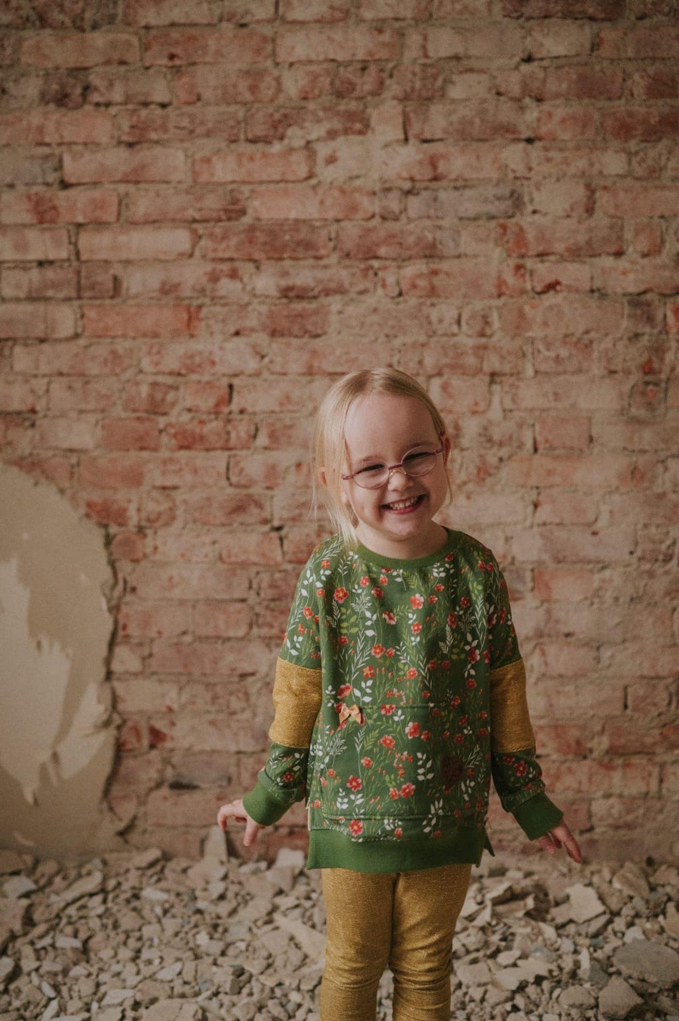 Produktfoto 4 von MamisLiebenNähen für Schnittmuster Sweater Kris in Gr. 86 - 152