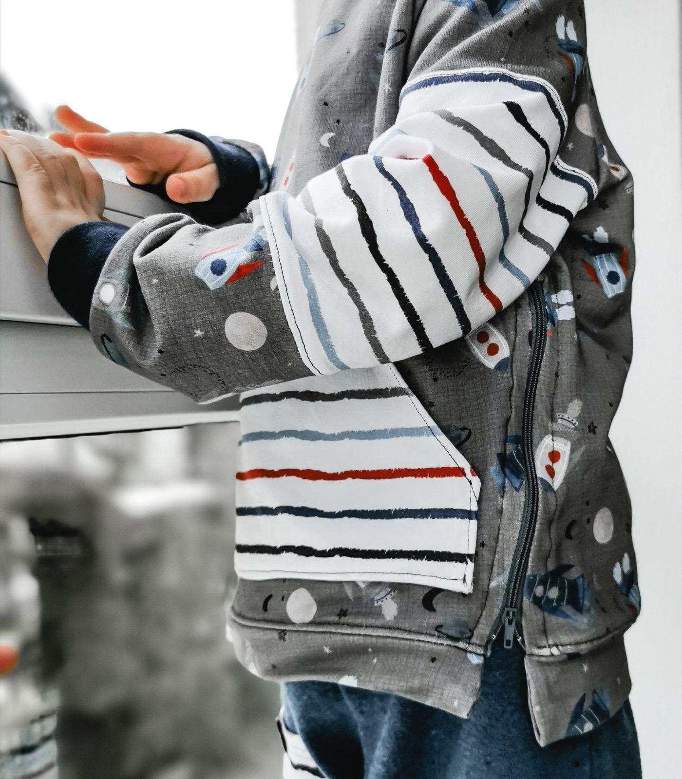 Produktfoto 5 von MamisLiebenNähen für Schnittmuster Sweater Kris in Gr. 86 - 152