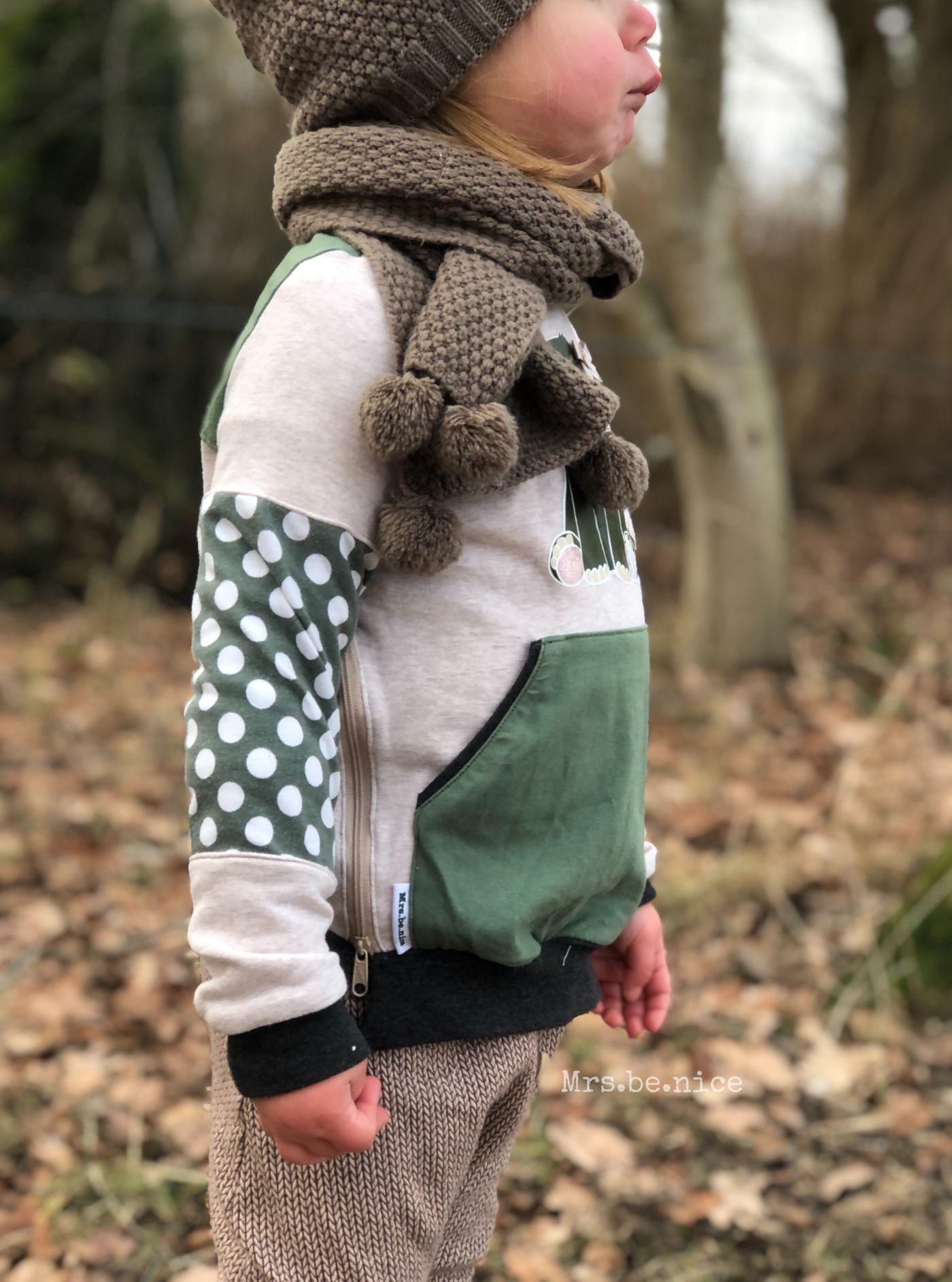 Produktfoto 8 von MamisLiebenNähen für Schnittmuster Sweater Kris in Gr. 86 - 152