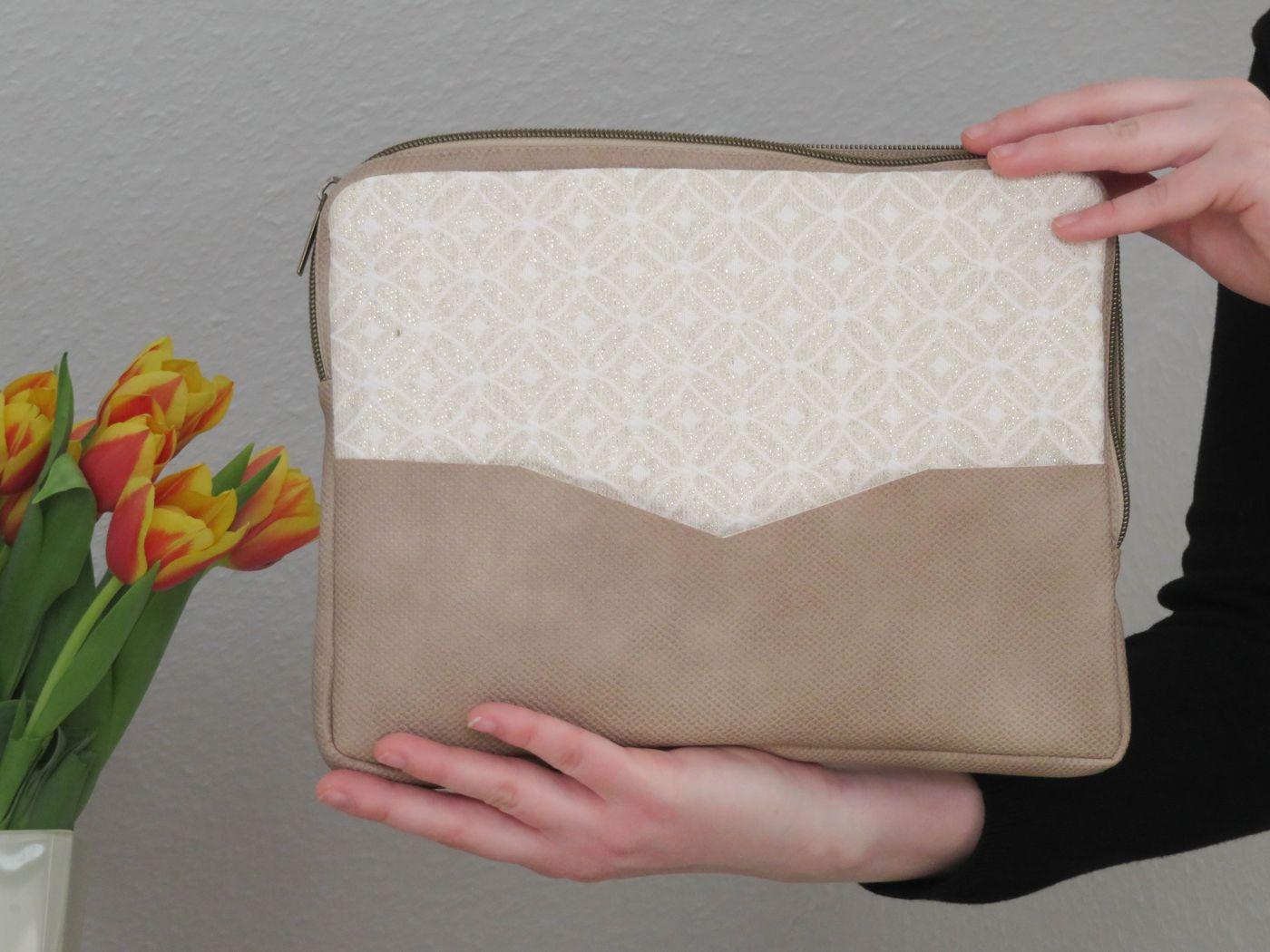 Produktfoto 3 von LaLilly Herzileien für Schnittmuster Tablet- & Laptopsleeve Pequeño & Grande Trabajador