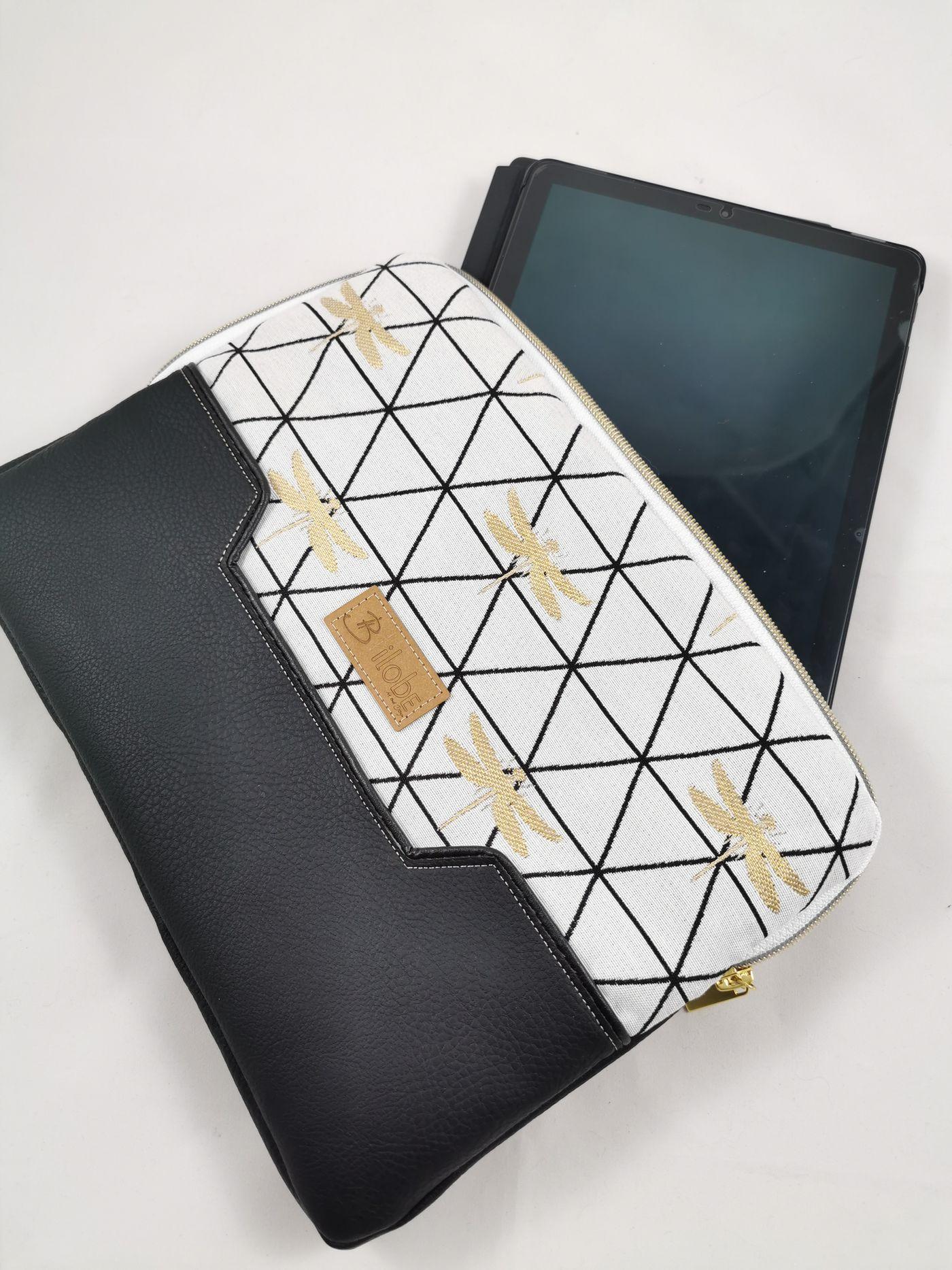 Produktfoto 4 von LaLilly Herzileien für Schnittmuster Tablet- & Laptopsleeve Pequeño & Grande Trabajador