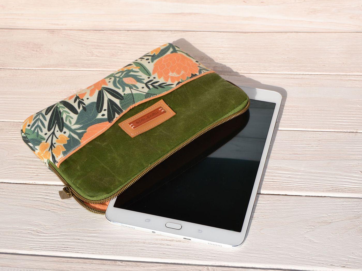 Produktfoto 5 von LaLilly Herzileien für Schnittmuster Tablet- & Laptopsleeve Pequeño & Grande Trabajador