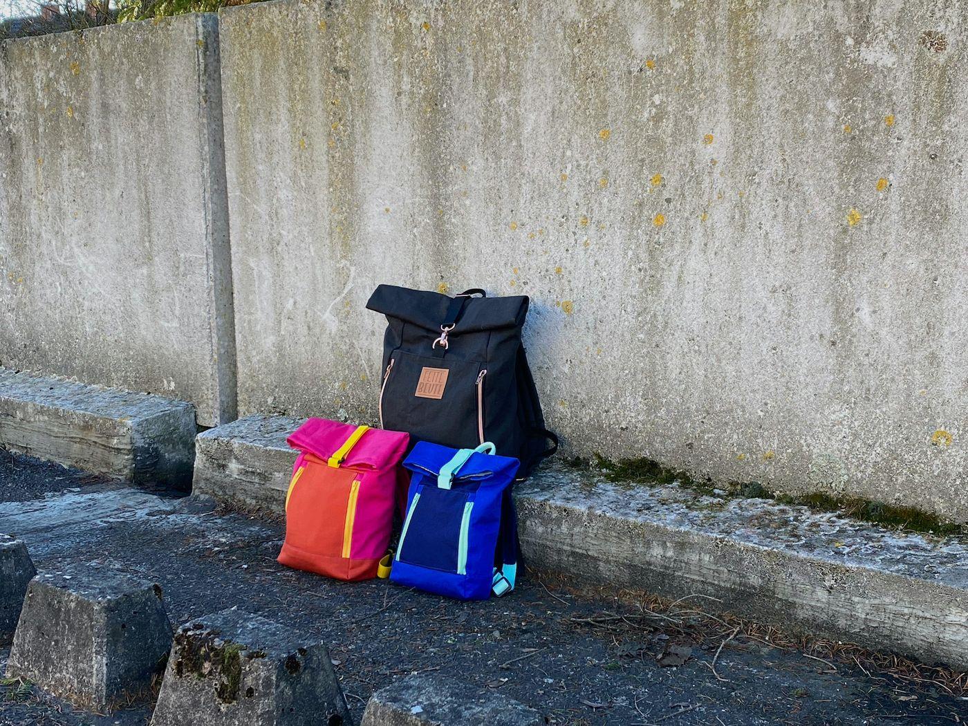 Produktfoto 2 von 11-lein für Schnittmuster Kombi Ebook Rucksack Yoko und Yoko mini