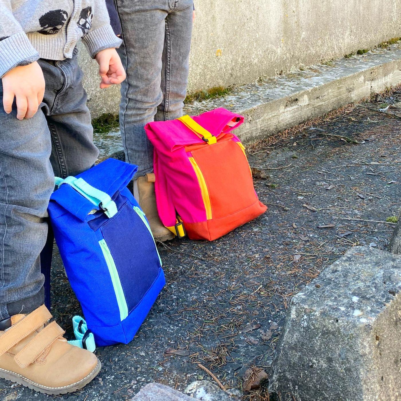 Produktfoto 3 von 11-lein für Schnittmuster Kombi Ebook Rucksack Yoko und Yoko mini