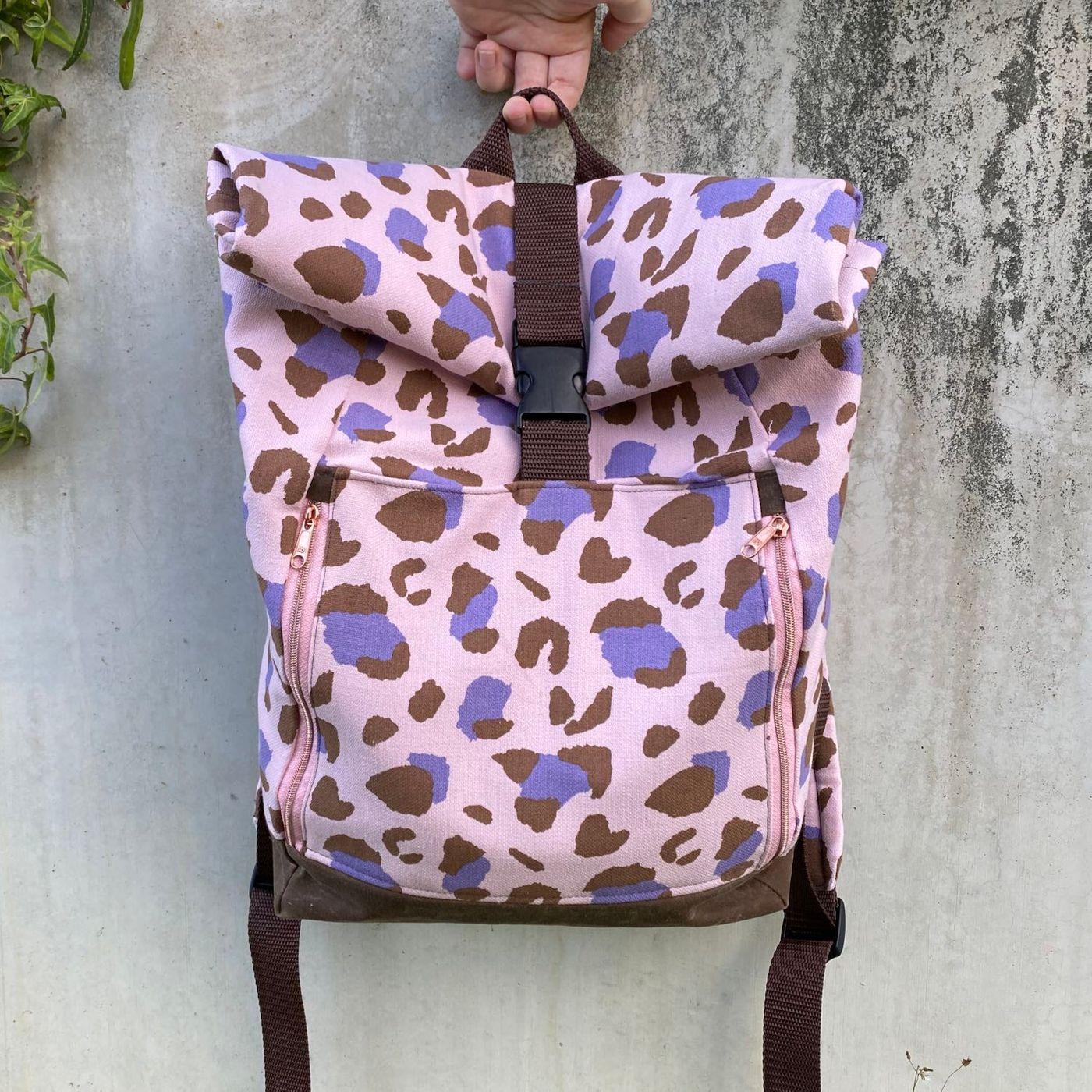 Produktfoto 6 von 11-lein für Schnittmuster Kombi Ebook Rucksack Yoko und Yoko mini