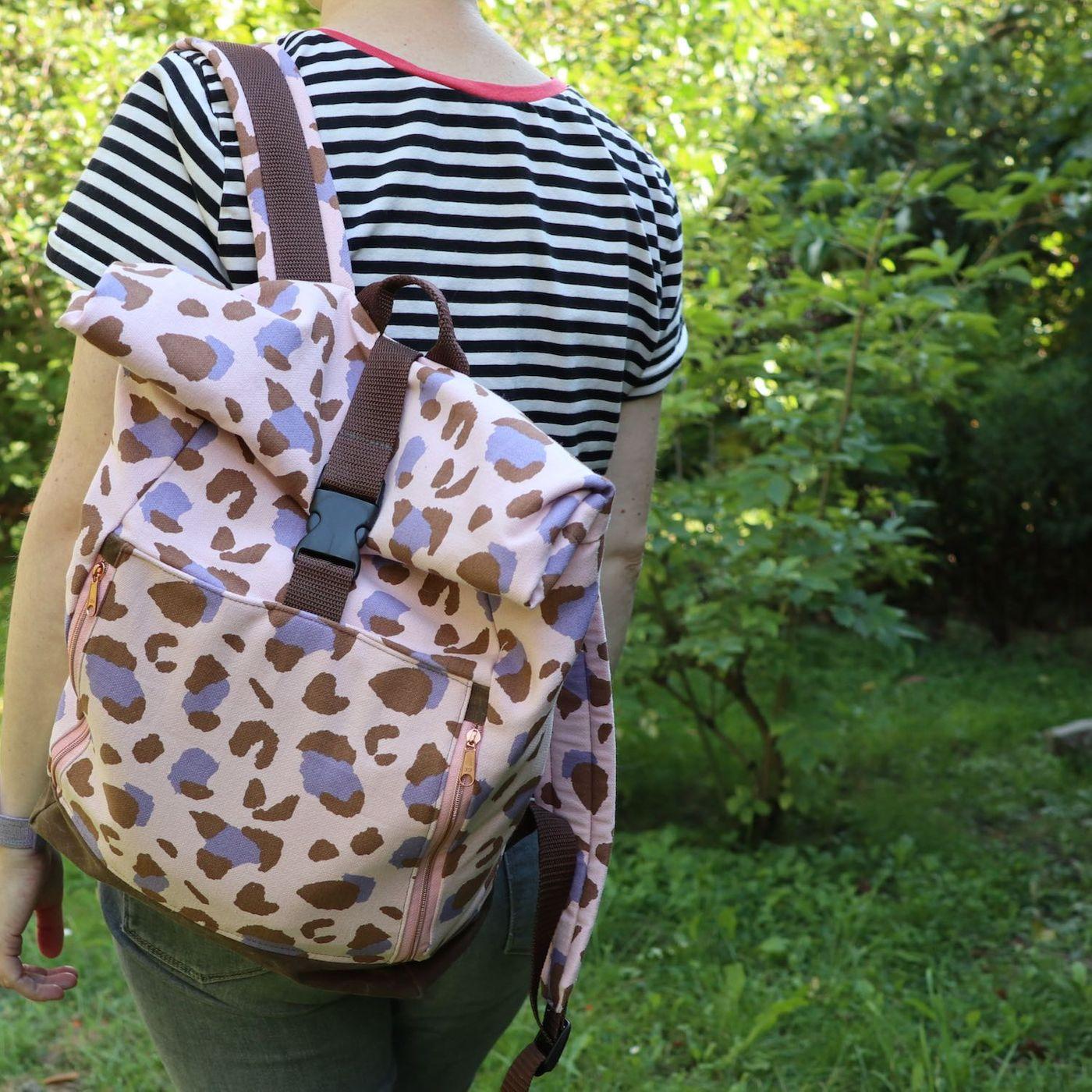 Produktfoto 7 von 11-lein für Schnittmuster Kombi Ebook Rucksack Yoko und Yoko mini
