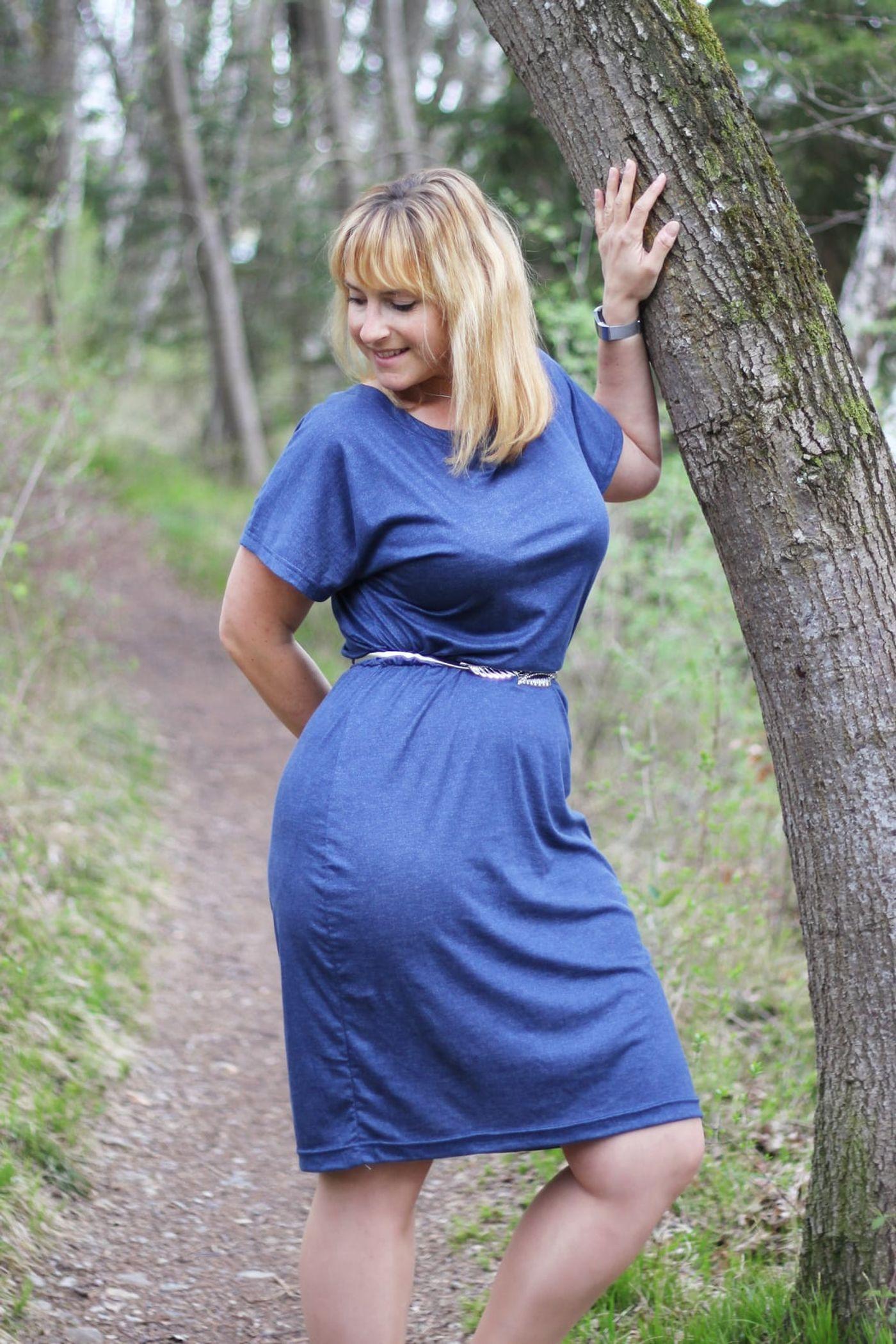 Produktfoto 2 von Schnittrebell für Schnittmuster Kombi Ebook Jumpsuit Marie & Kleid Joana Gr.34-54