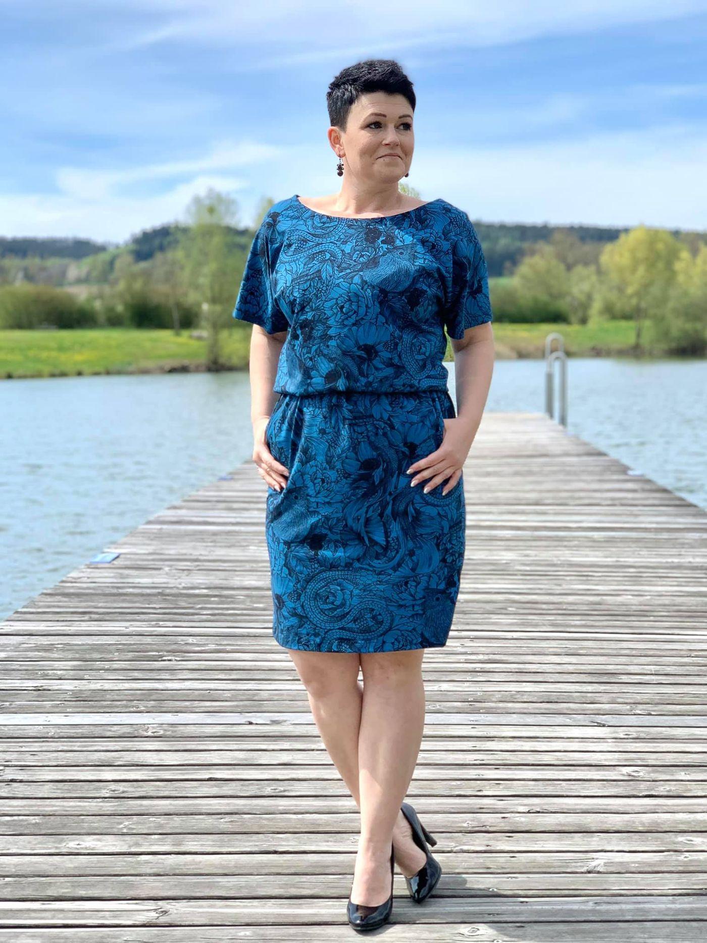 Produktfoto 3 von Schnittrebell für Schnittmuster Kombi Ebook Jumpsuit Marie & Kleid Joana Gr.34-54