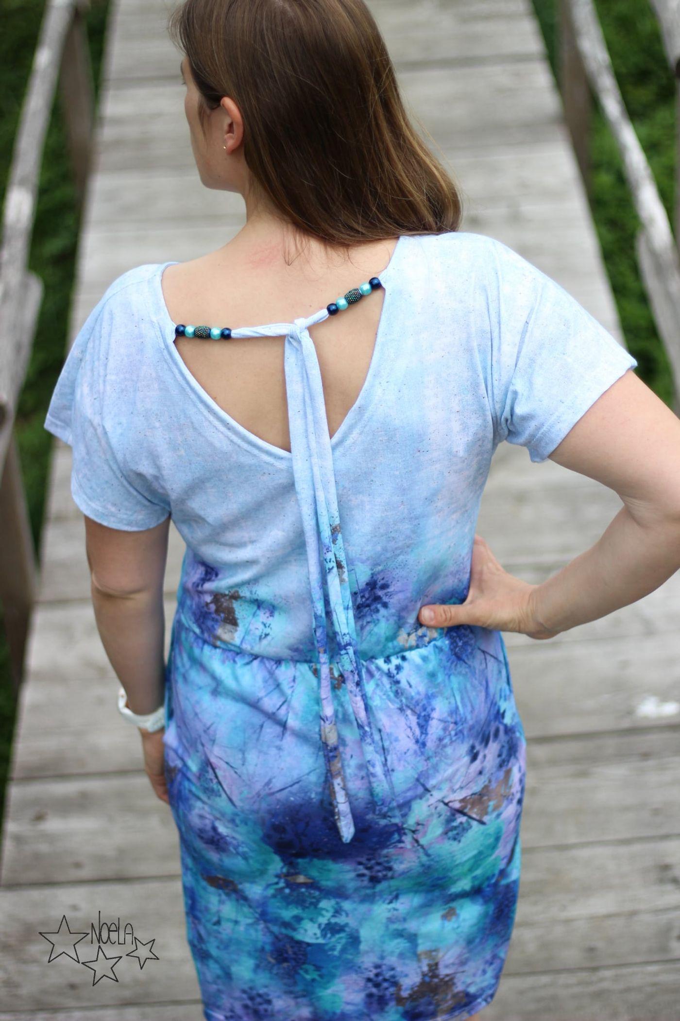 Produktfoto 4 von Schnittrebell für Schnittmuster Kombi Ebook Jumpsuit Marie & Kleid Joana Gr.34-54