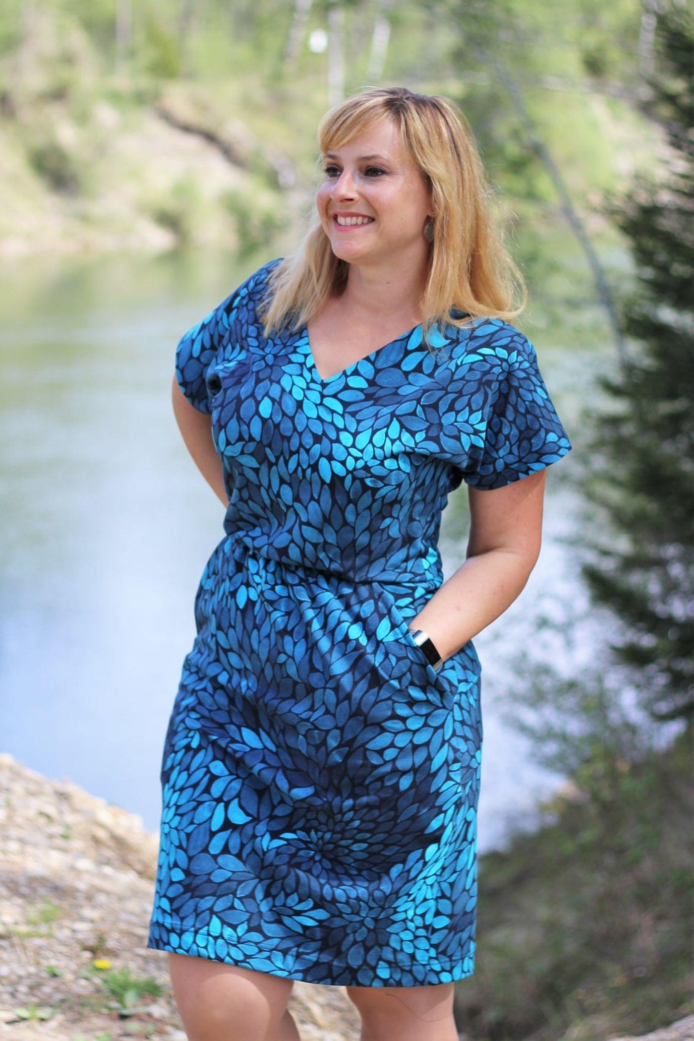 Produktfoto 7 von Schnittrebell für Schnittmuster Kombi Ebook Jumpsuit Marie & Kleid Joana Gr.34-54