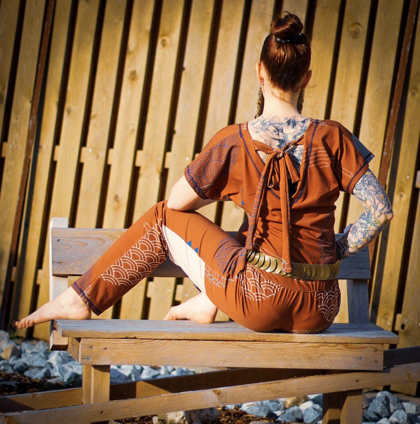 Produktfoto 9 von Schnittrebell für Schnittmuster Kombi Ebook Jumpsuit Marie & Kleid Joana Gr.34-54