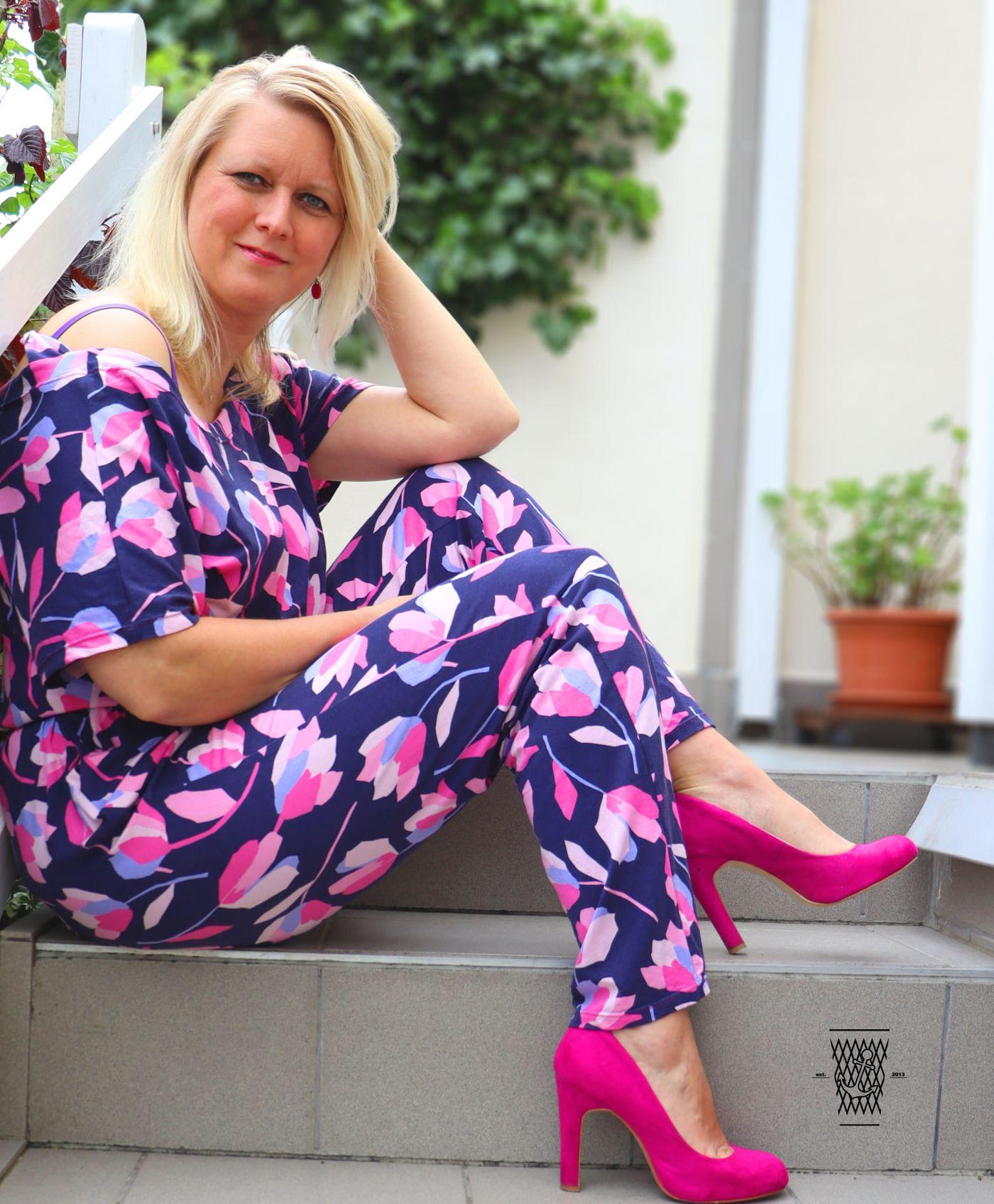 Produktfoto 12 von Schnittrebell für Schnittmuster Kombi Ebook Jumpsuit Marie & Kleid Joana Gr.34-54