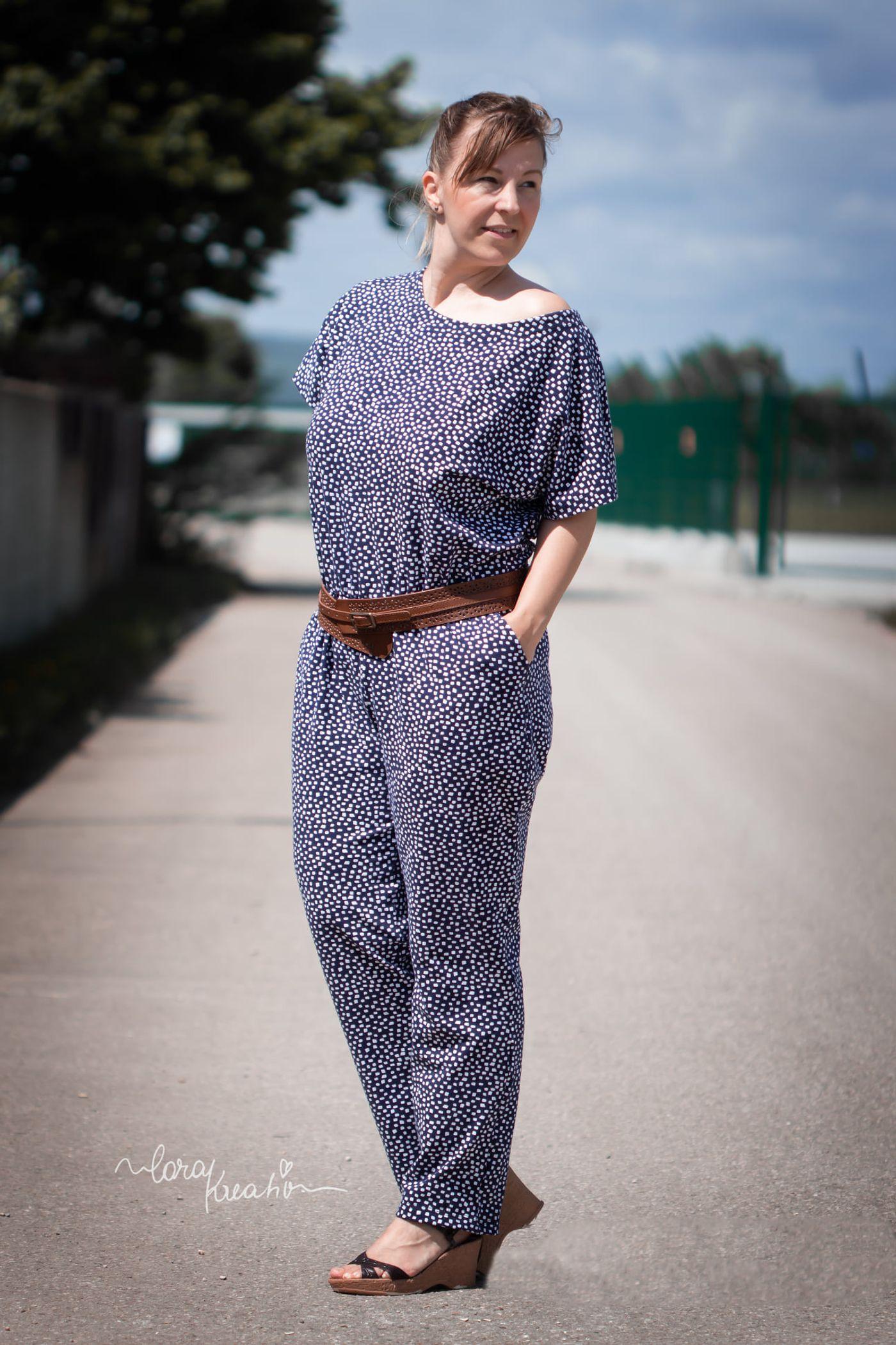 Produktfoto 14 von Schnittrebell für Schnittmuster Kombi Ebook Jumpsuit Marie & Kleid Joana Gr.34-54