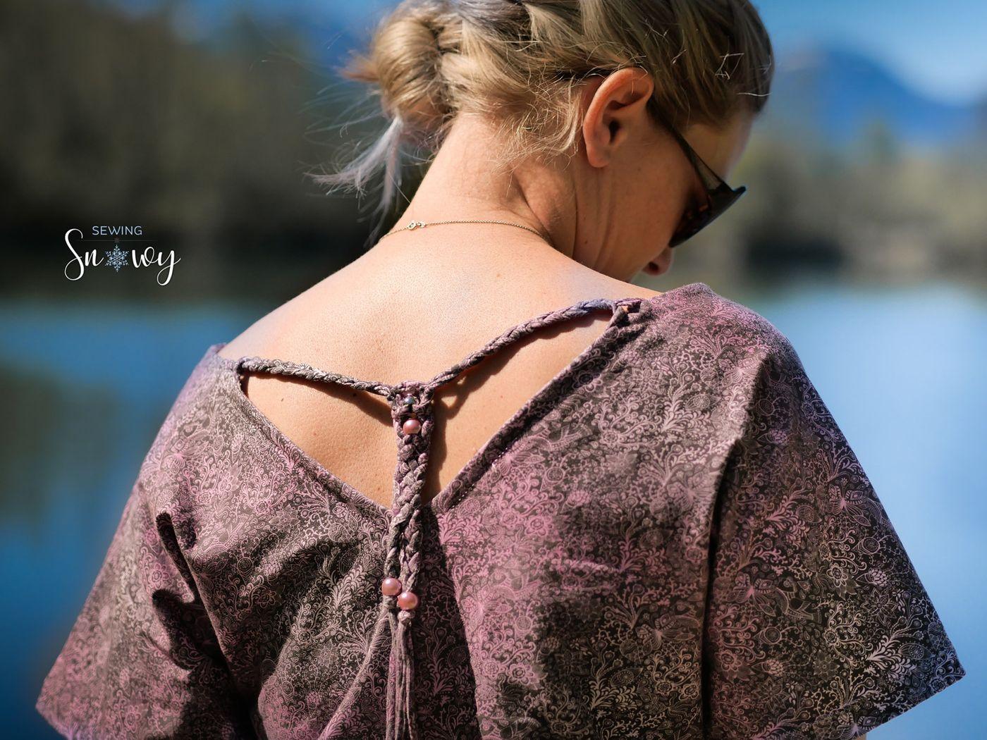 Produktfoto 19 von Schnittrebell für Schnittmuster Kombi Ebook Jumpsuit Marie & Kleid Joana Gr.34-54
