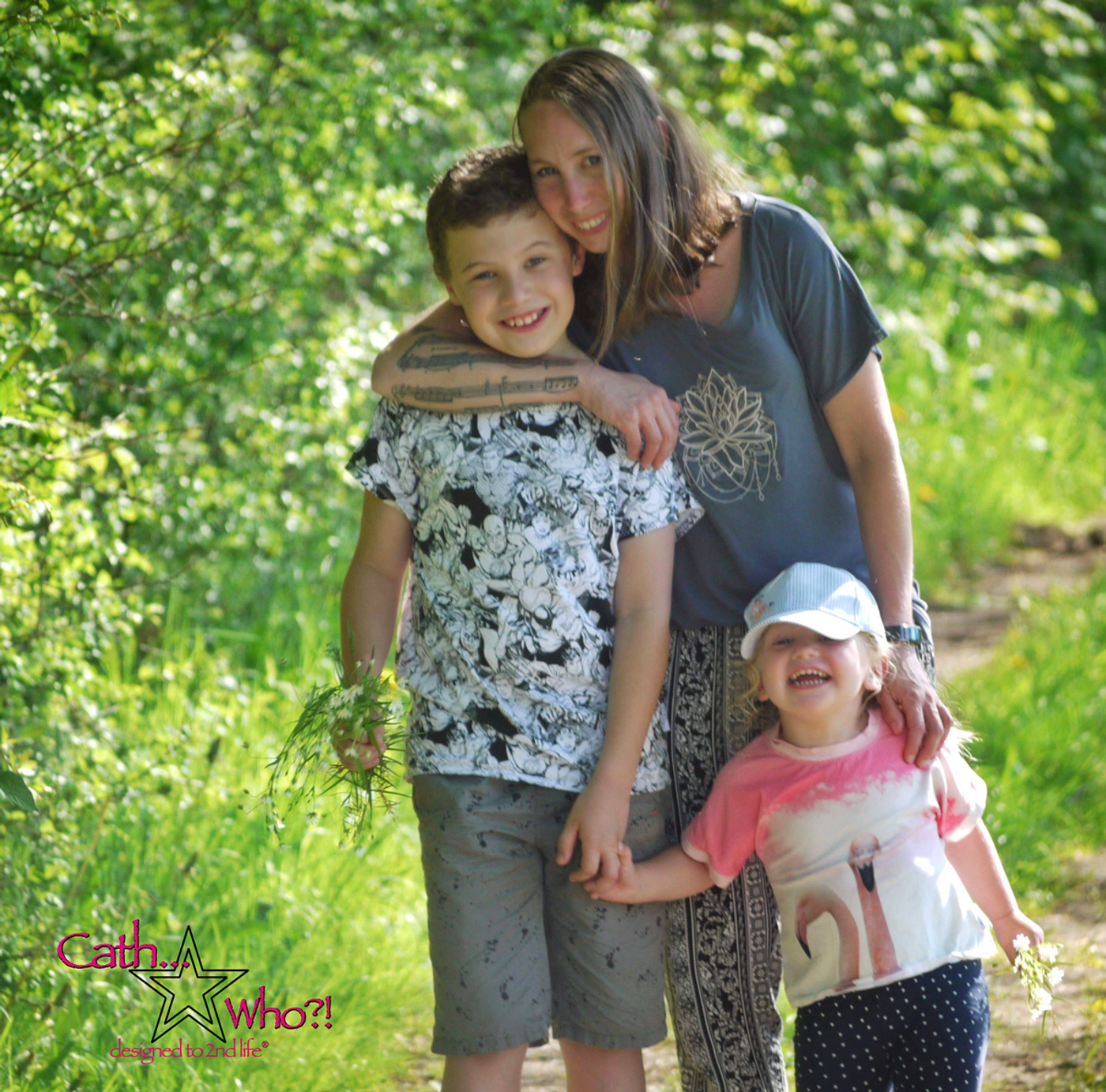 Produktfoto 3 von MiToSa-Kreativ für Schnittmuster Kombi E-Book Family Shirt Kinder, Damen & Männer Gr. 74 - 164, 34 - 52 & XS - 3XL