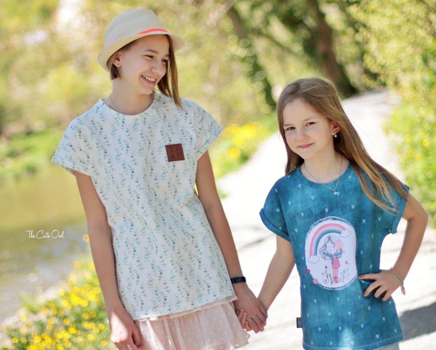 Produktfoto 28 von MiToSa-Kreativ für Schnittmuster Kombi E-Book Family Shirt Kinder, Damen & Männer Gr. 74 - 164, 34 - 52 & XS - 3XL