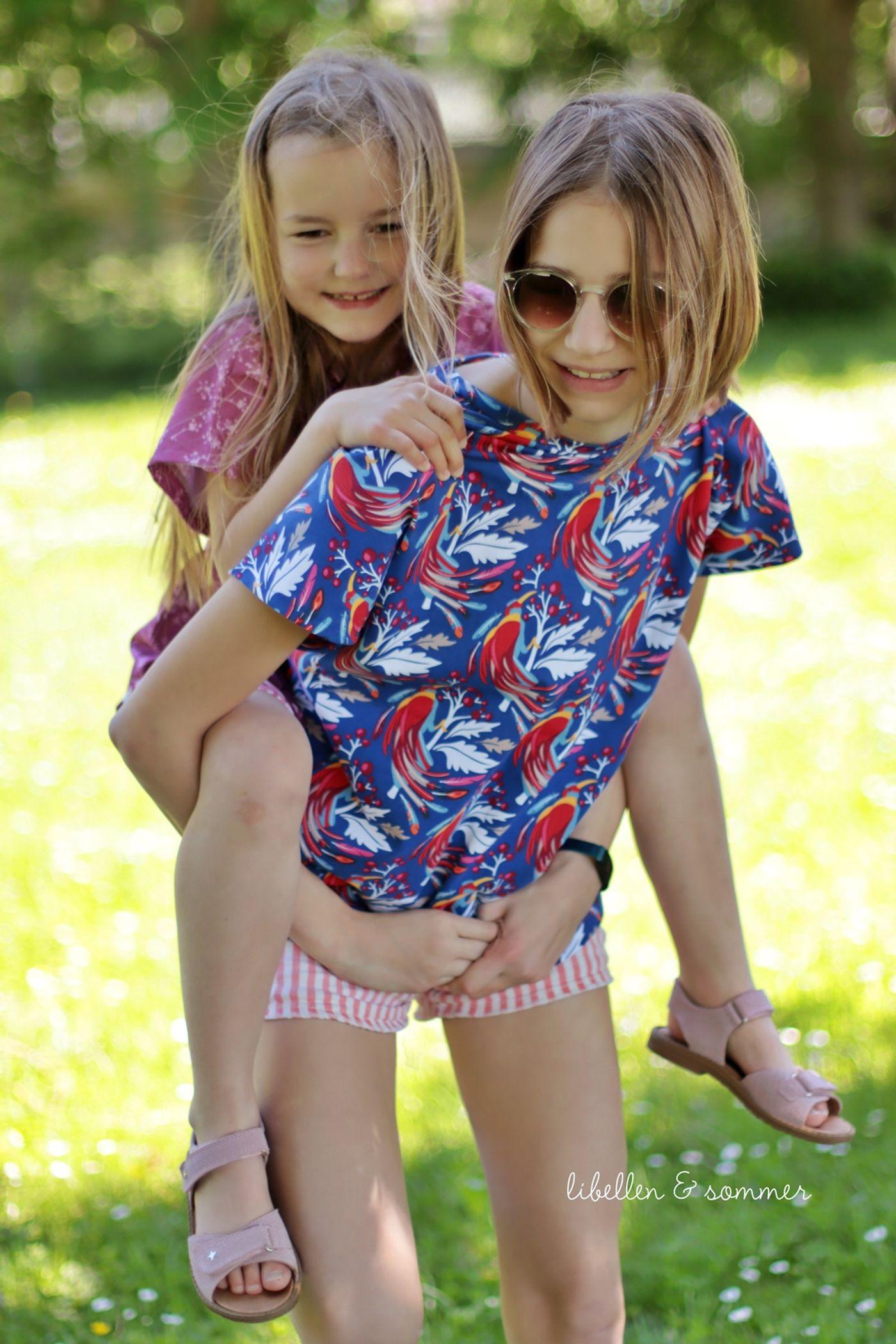 Produktfoto 29 von MiToSa-Kreativ für Schnittmuster Kombi E-Book Family Shirt Kinder, Damen & Männer Gr. 74 - 164, 34 - 52 & XS - 3XL