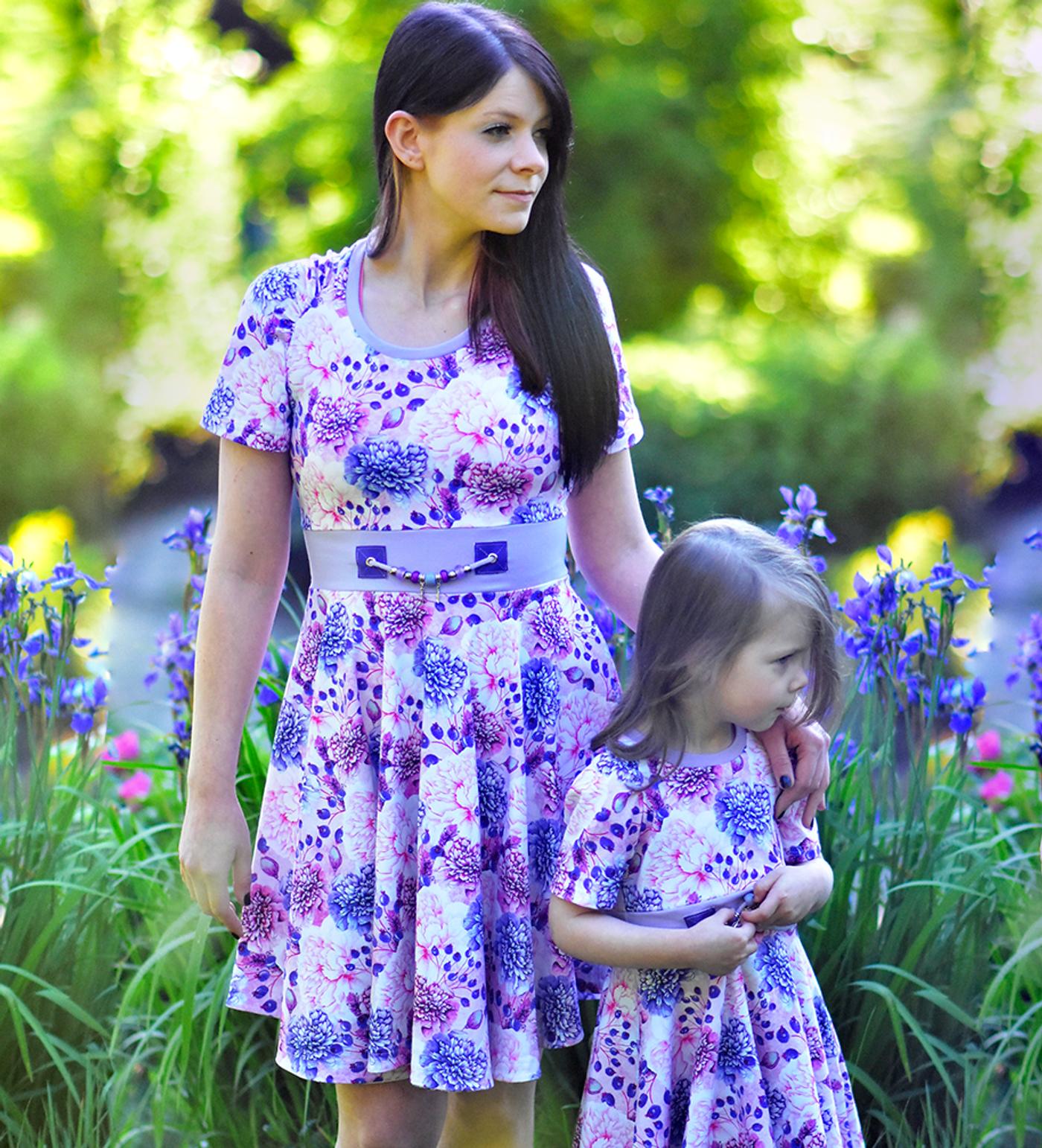 Produktfoto 2 von Rosalieb & Wildblau für Schnittmuster Kombi-Ebook Lillibee Damen und Mädchen