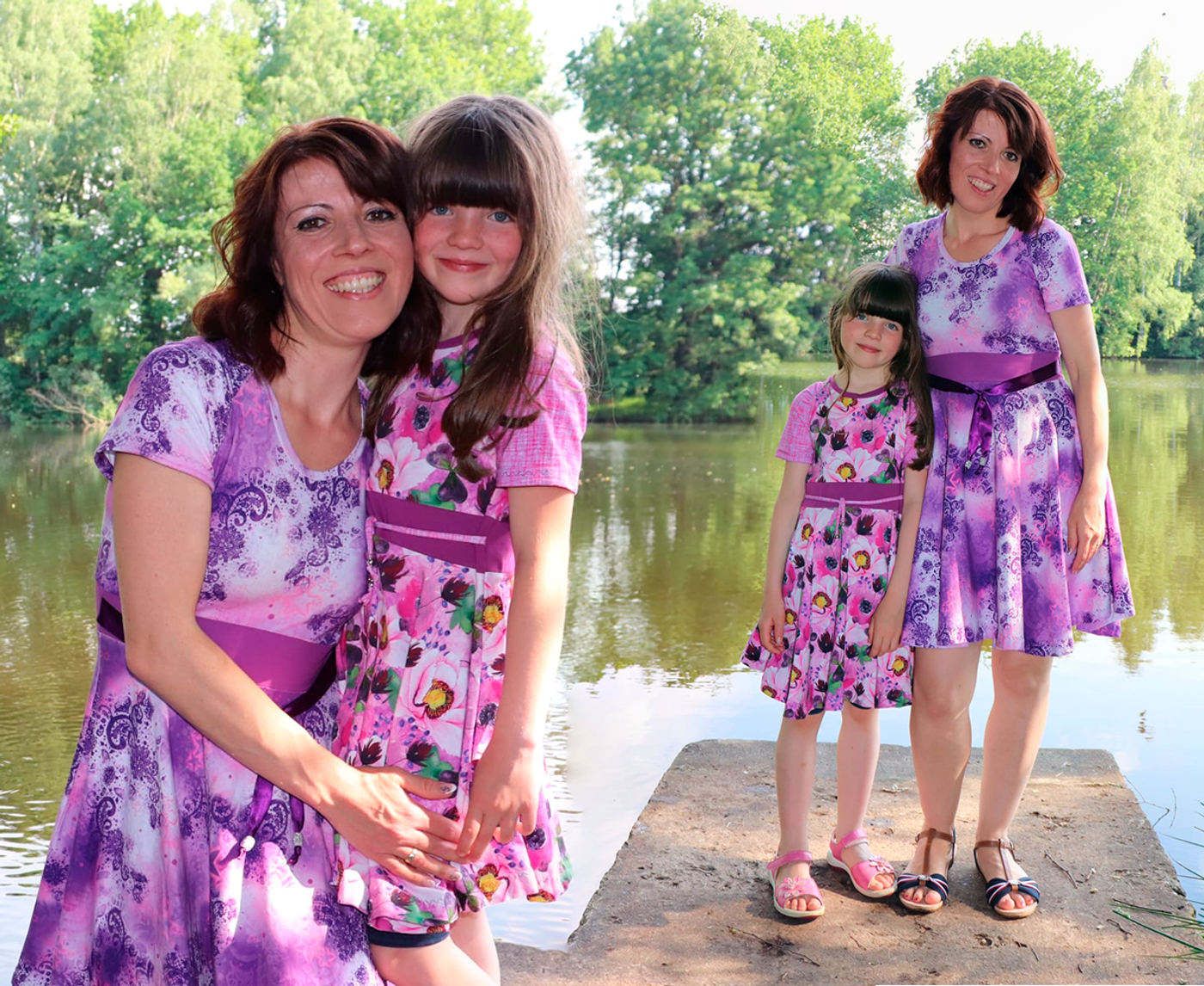 Produktfoto 3 von Rosalieb & Wildblau für Schnittmuster Kombi-Ebook Lillibee Damen und Mädchen