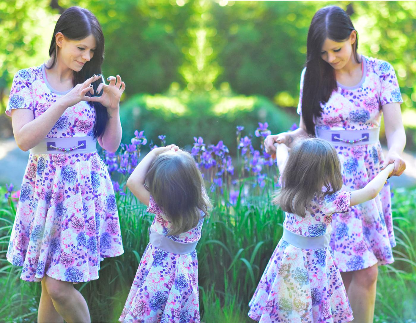 Produktfoto 4 von Rosalieb & Wildblau für Schnittmuster Kombi-Ebook Lillibee Damen und Mädchen