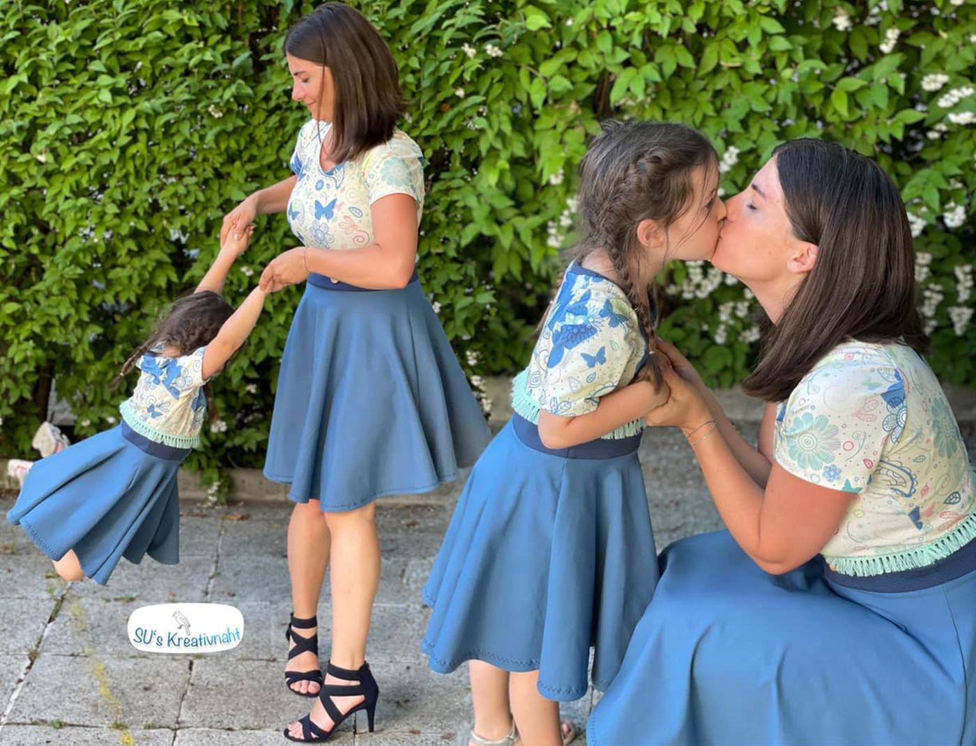 Produktfoto 5 von Rosalieb & Wildblau für Schnittmuster Kombi-Ebook Lillibee Damen und Mädchen