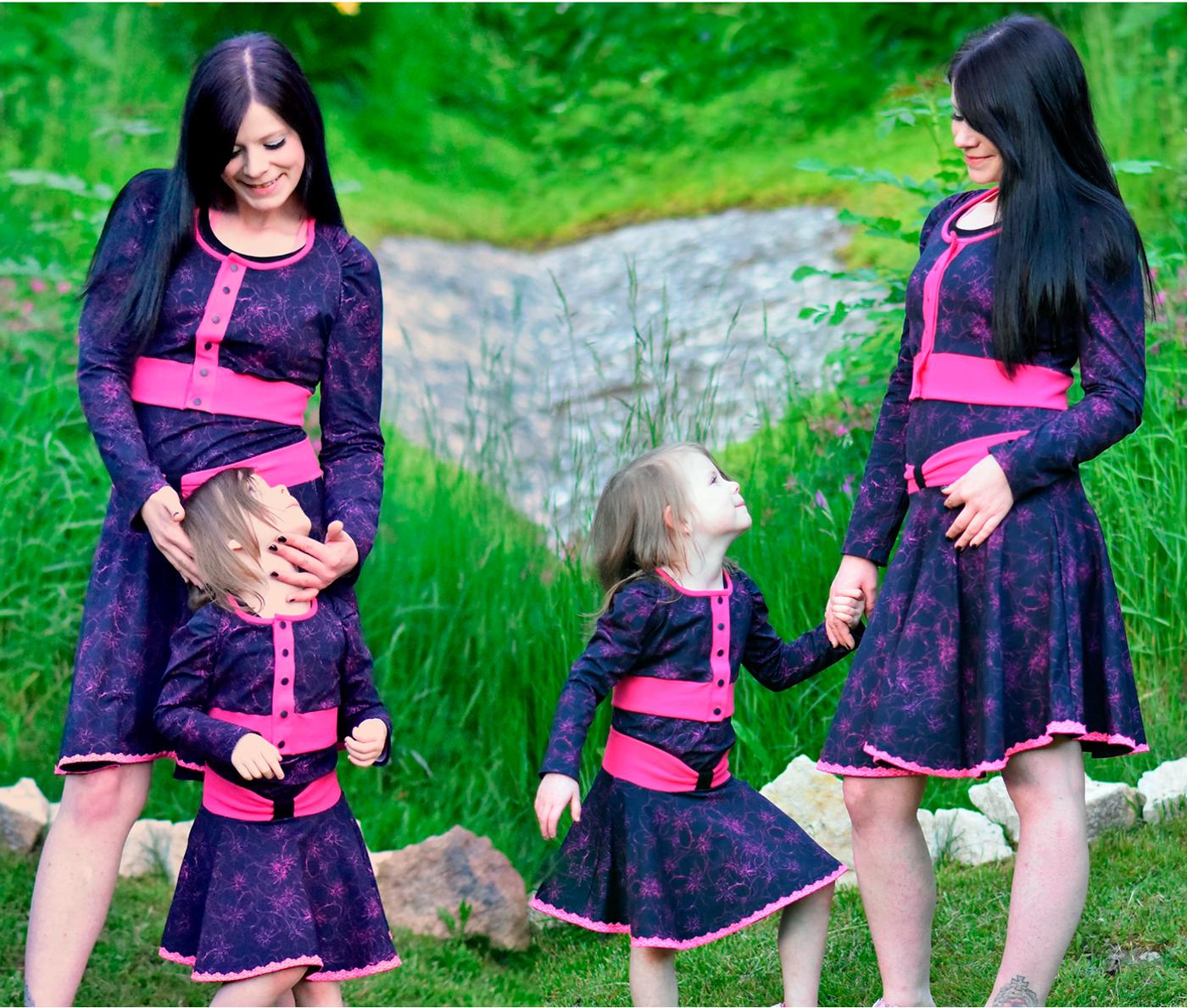 Produktfoto 6 von Rosalieb & Wildblau für Schnittmuster Kombi-Ebook Lillibee Damen und Mädchen