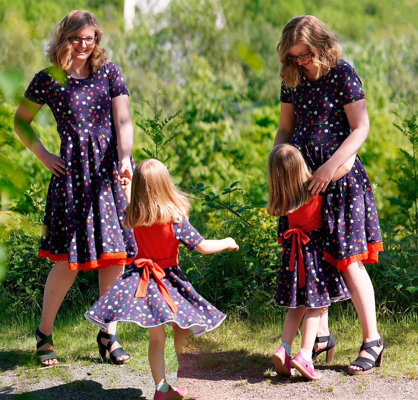 Produktfoto 7 von Rosalieb & Wildblau für Schnittmuster Kombi-Ebook Lillibee Damen und Mädchen
