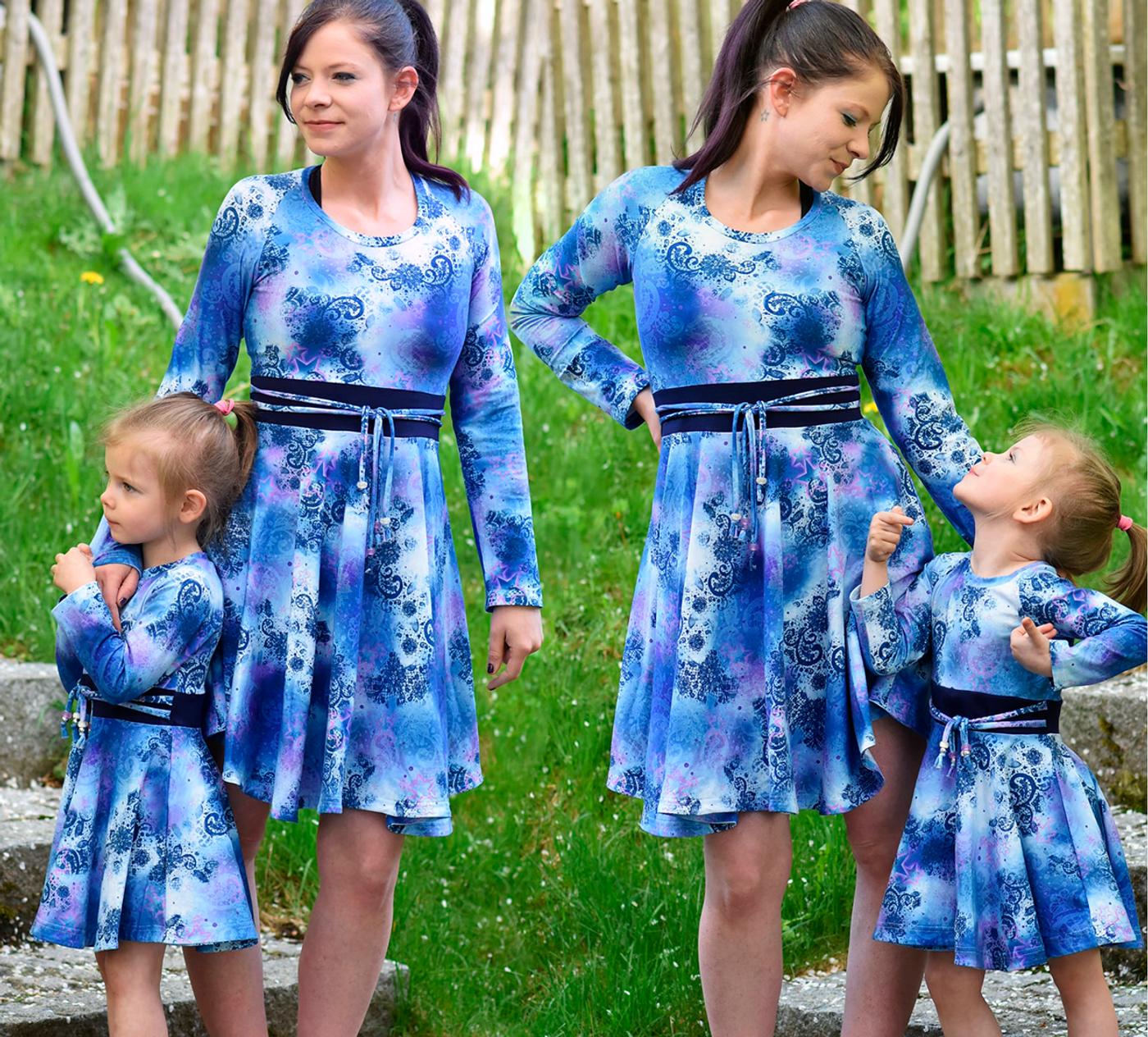 Produktfoto 8 von Rosalieb & Wildblau für Schnittmuster Kombi-Ebook Lillibee Damen und Mädchen