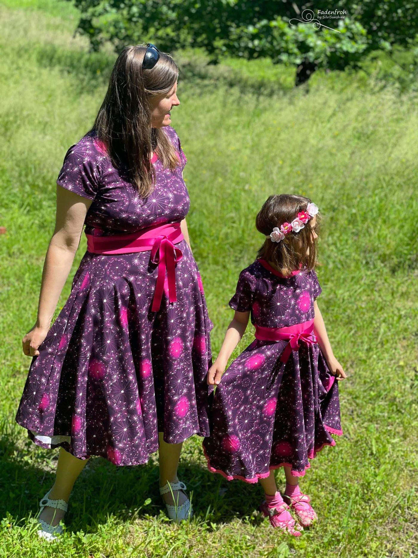 Produktfoto 13 von Rosalieb & Wildblau für Schnittmuster Kombi-Ebook Lillibee Damen und Mädchen