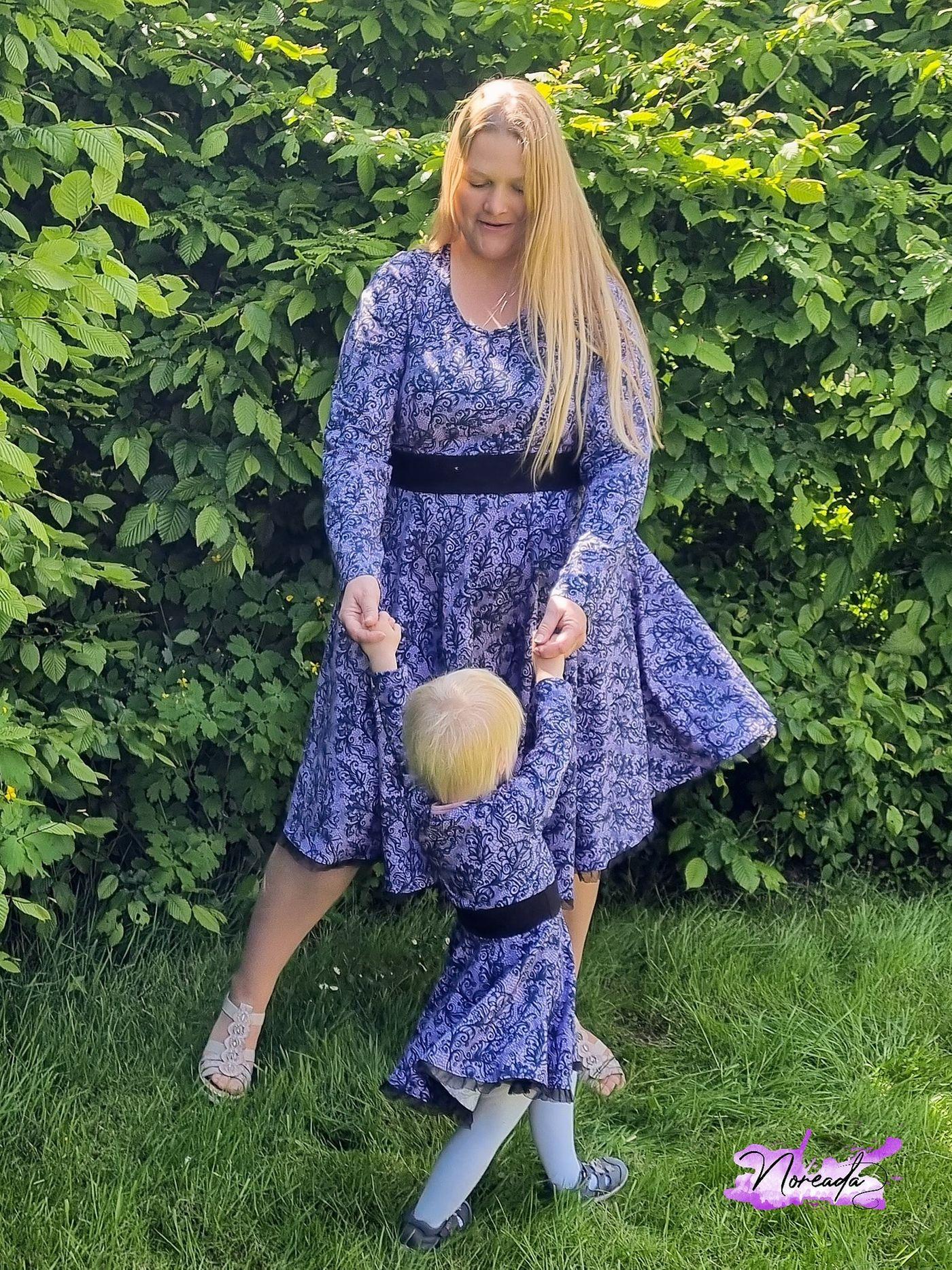 Produktfoto 17 von Rosalieb & Wildblau für Schnittmuster Kombi-Ebook Lillibee Damen und Mädchen