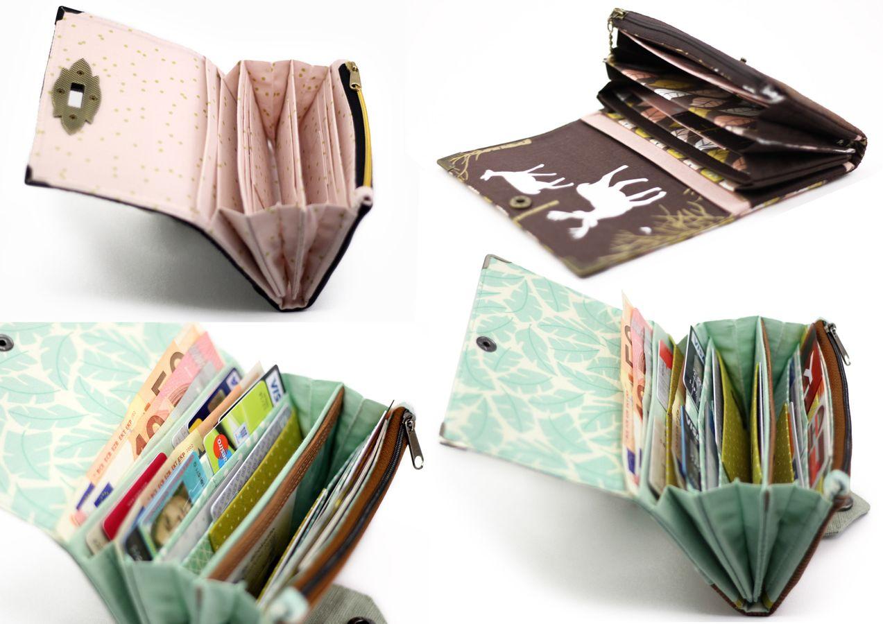 Produktfoto 5 von Hansedelli für Schnittmuster Tasche FoldOver 2.0 + Geldbörse Little Ruby