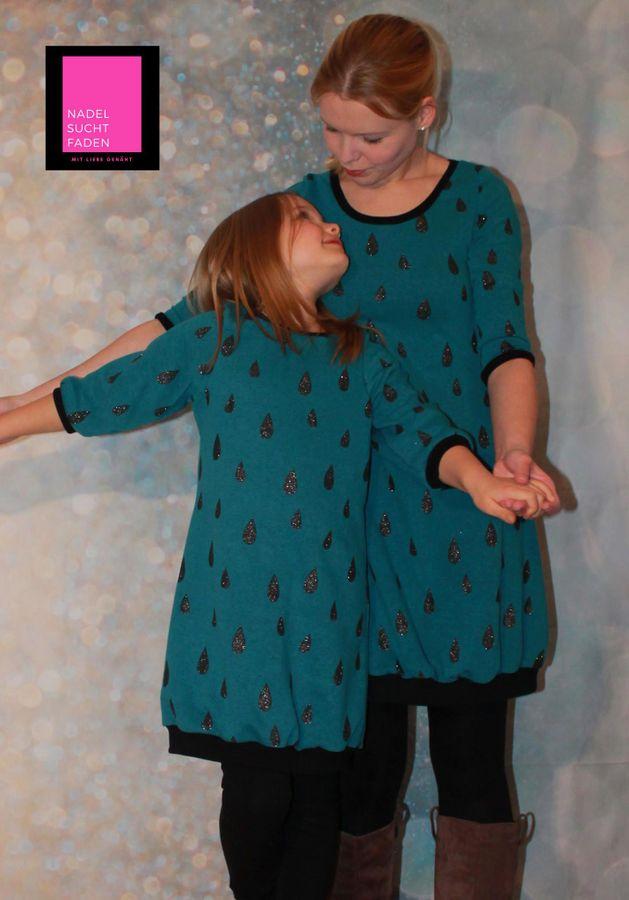 Produktfoto 1 von Nähcram für Schnittmuster Mama-Tochter Kombi: s´Kleid und s´Kleidle