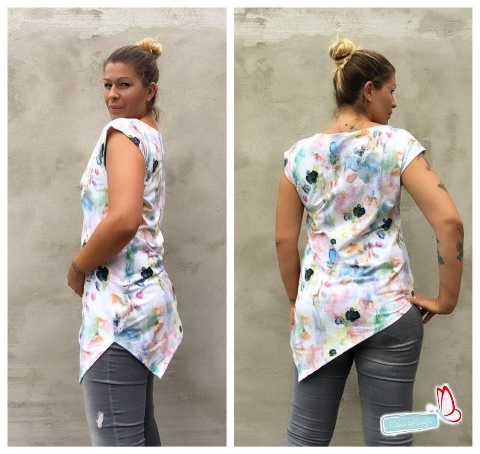 Produktfoto 3 von MiToSa-Kreativ für Schnittmuster Kombi E-Book One Tip Shirt / Hoodie Gr 34 - 52 & 74 - 164
