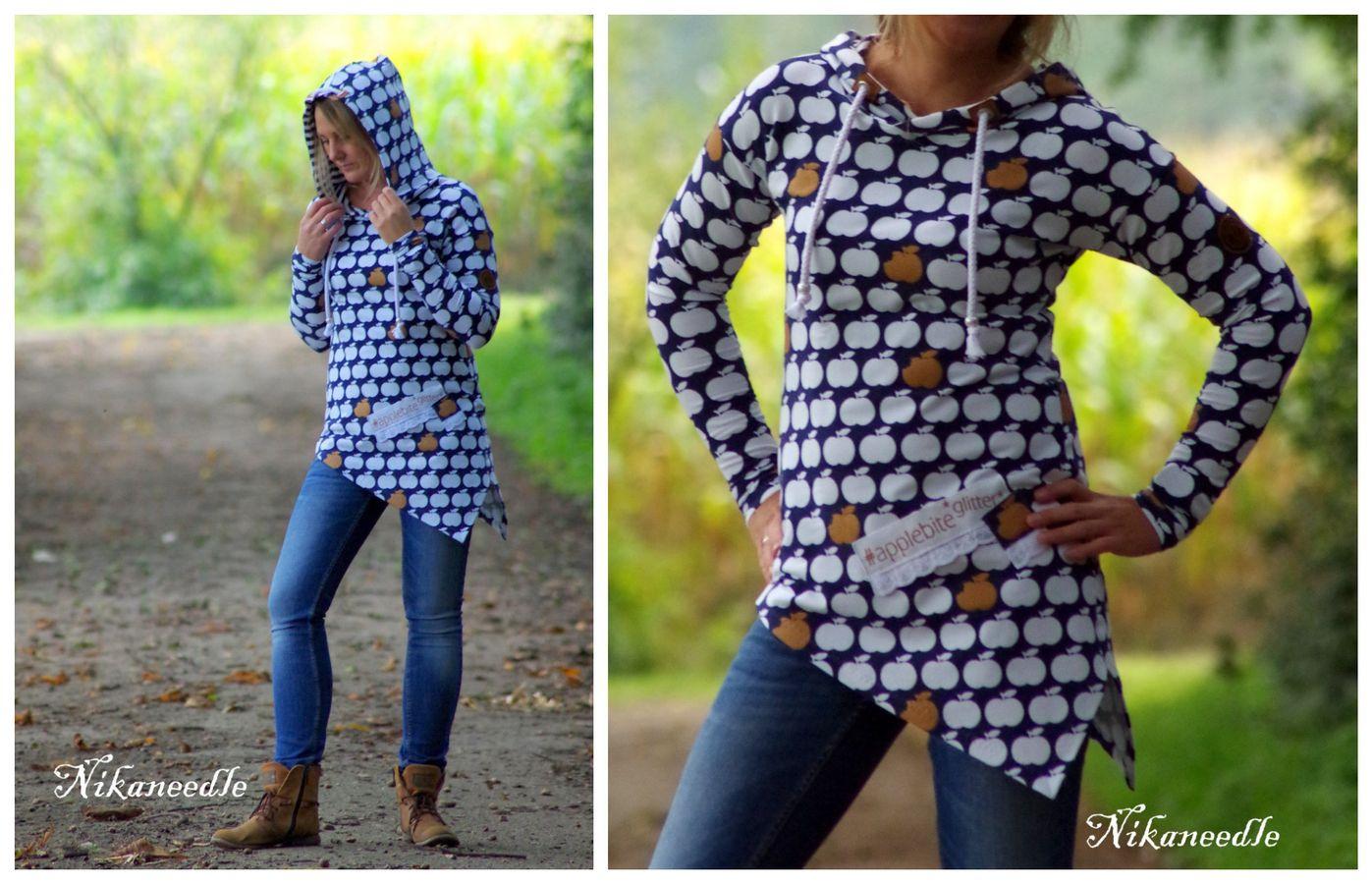 Produktfoto 6 von MiToSa-Kreativ für Schnittmuster Kombi E-Book One Tip Shirt / Hoodie Gr 34 - 52 & 74 - 164