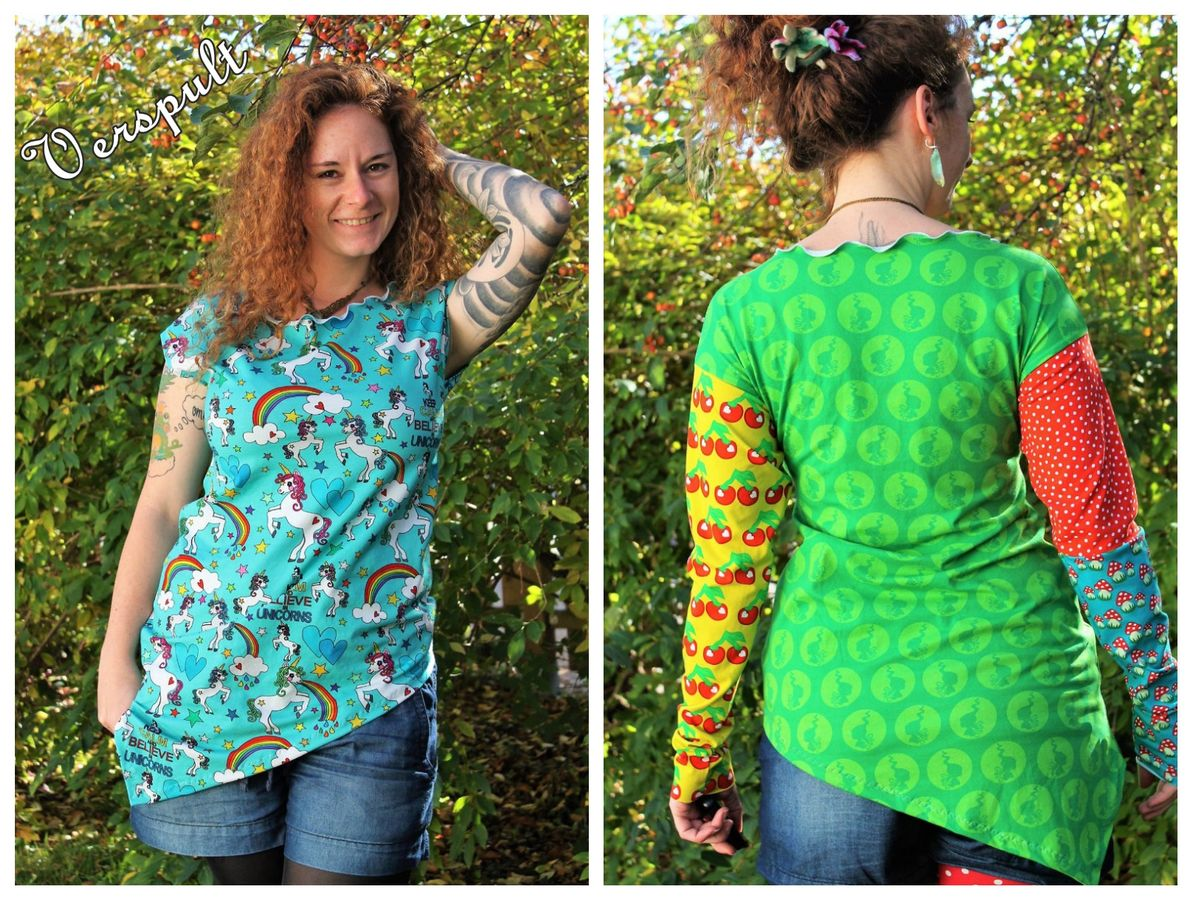 Produktfoto 9 von MiToSa-Kreativ für Schnittmuster Kombi E-Book One Tip Shirt / Hoodie Gr 34 - 52 & 74 - 164