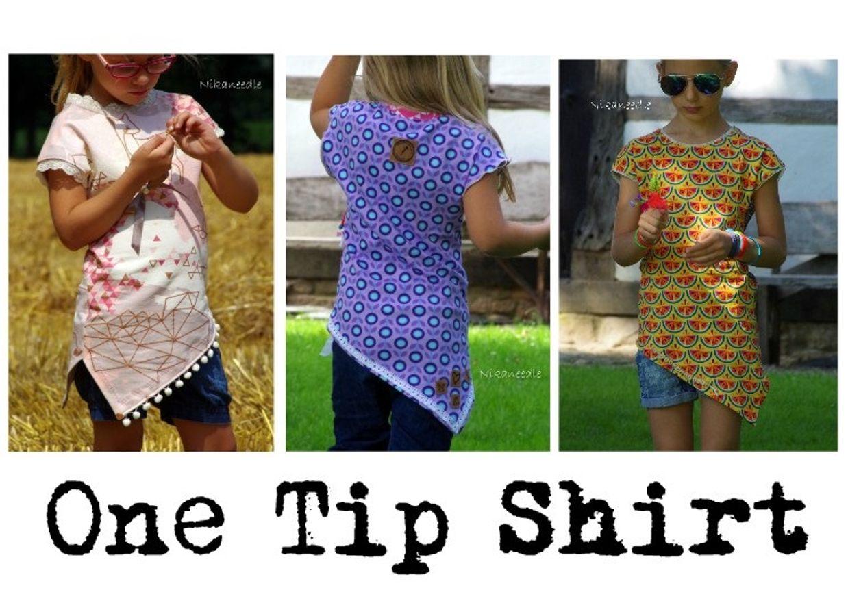 Produktfoto 11 von MiToSa-Kreativ für Schnittmuster Kombi E-Book One Tip Shirt / Hoodie Gr 34 - 52 & 74 - 164