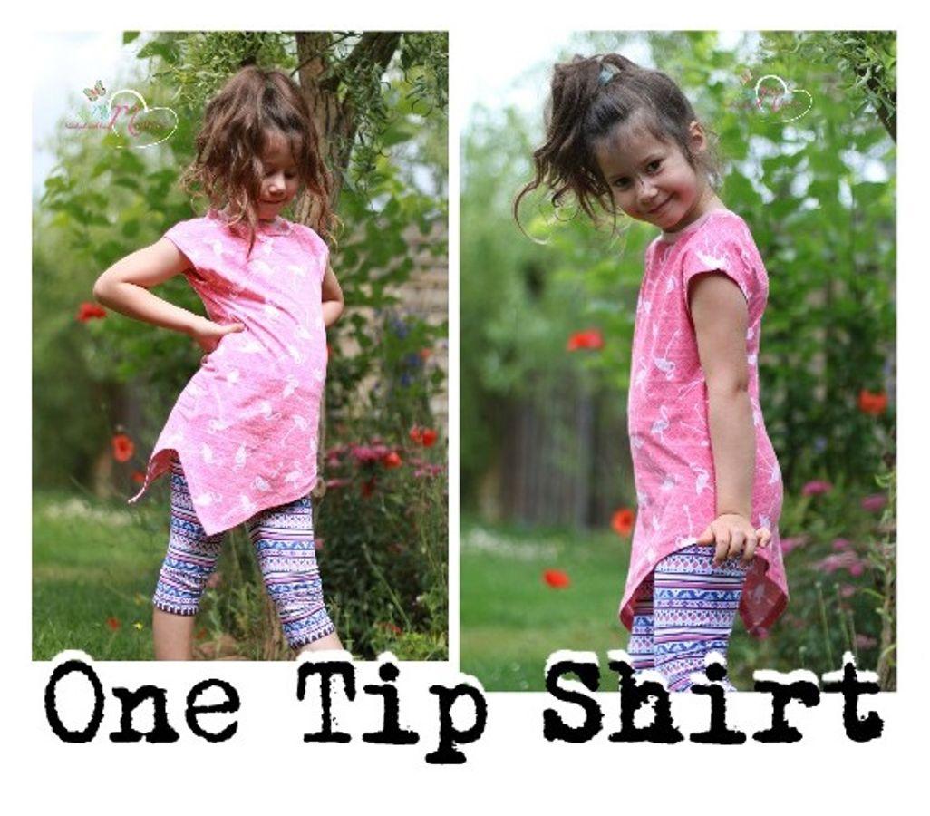 Produktfoto 14 von MiToSa-Kreativ für Schnittmuster Kombi E-Book One Tip Shirt / Hoodie Gr 34 - 52 & 74 - 164